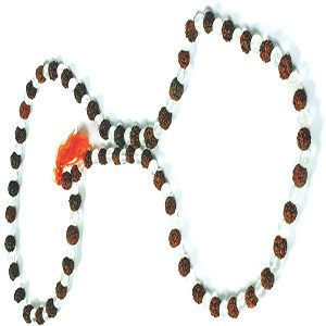 Crystal Rudraksh Prayer Beads