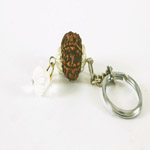 lucky charm Rudraksh key ring