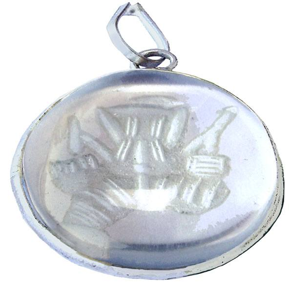 A crystal Ganpathi locket