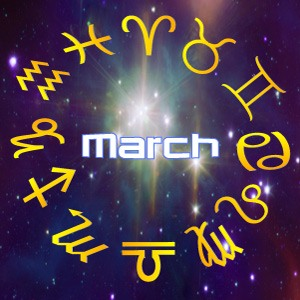 This Month's Horoscopes, Predictions for March, 2018