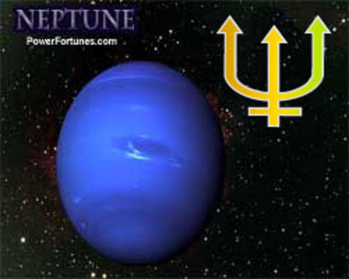 Planets in Astrology, NEPTUNE. Signs, Traits, Symbol.
