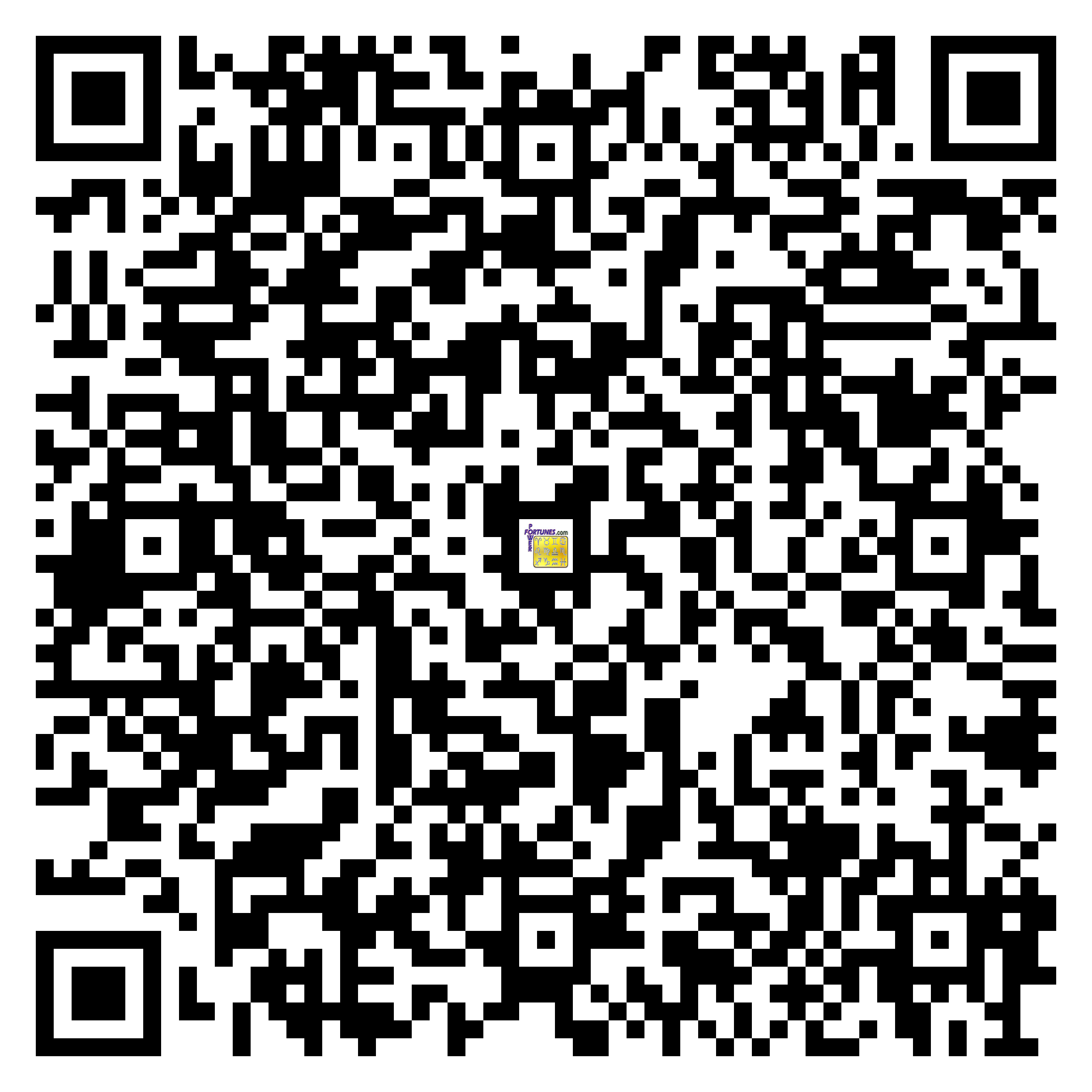 Download QR Code for PowerFortunes.com SKU# Pwr.bd45X102-s