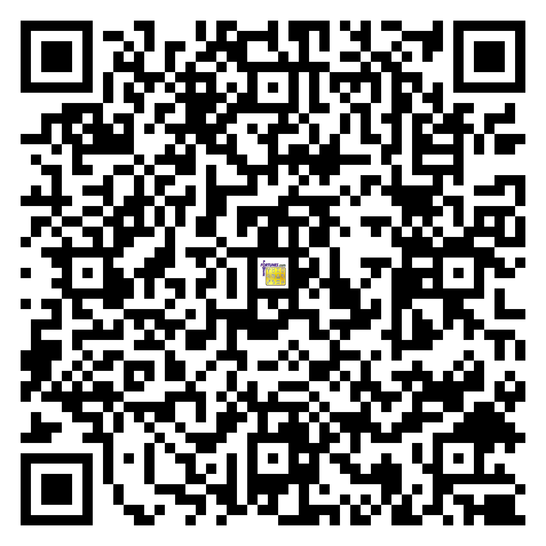 Download QR Code for PowerFortunes.com SKU# Pwr.bd53X127-s