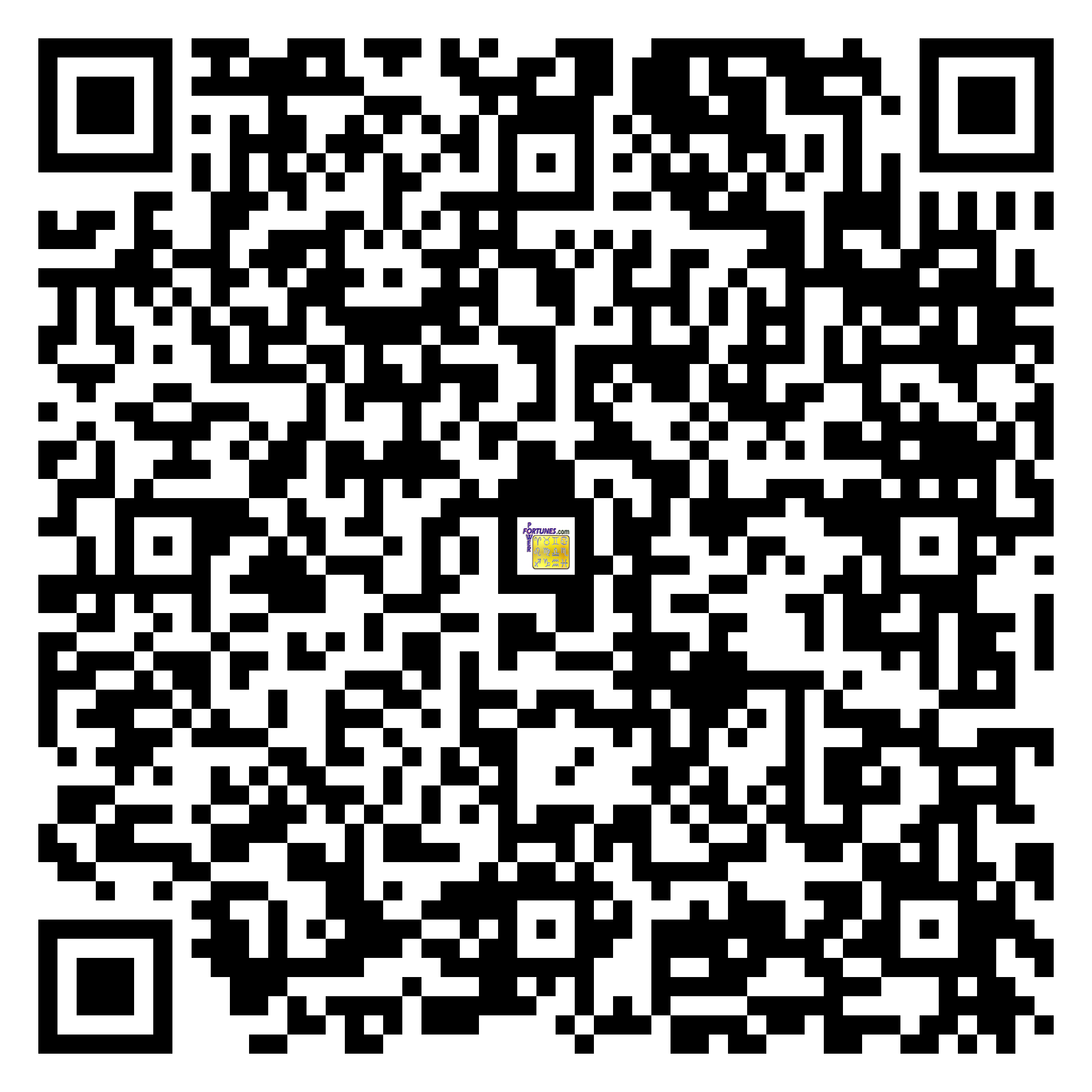 Download QR Code for PowerFortunes.com SKU# Pwr.br73X97-s