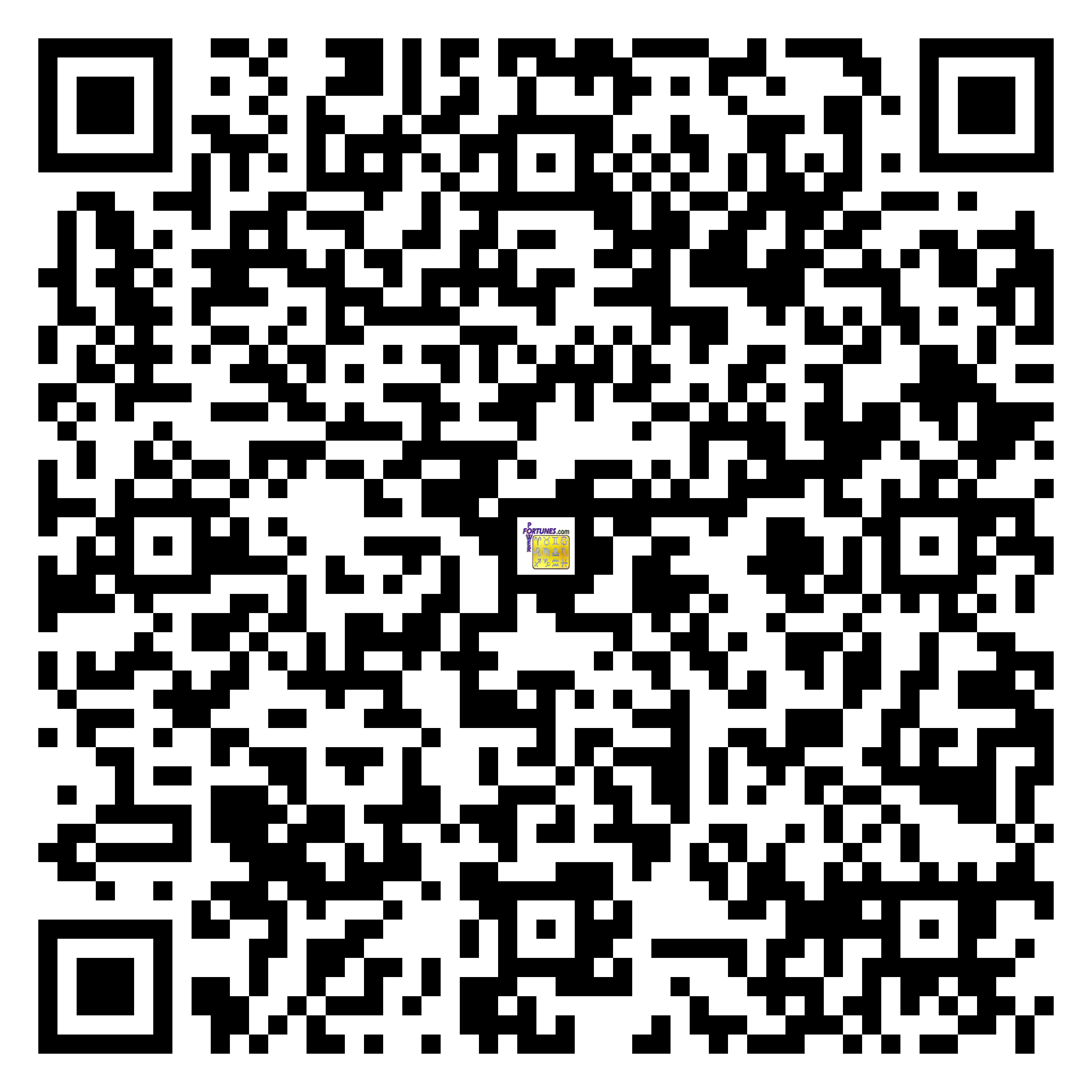 Download QR Code for PowerFortunes.com SKU# Pwr.br76X172-s
