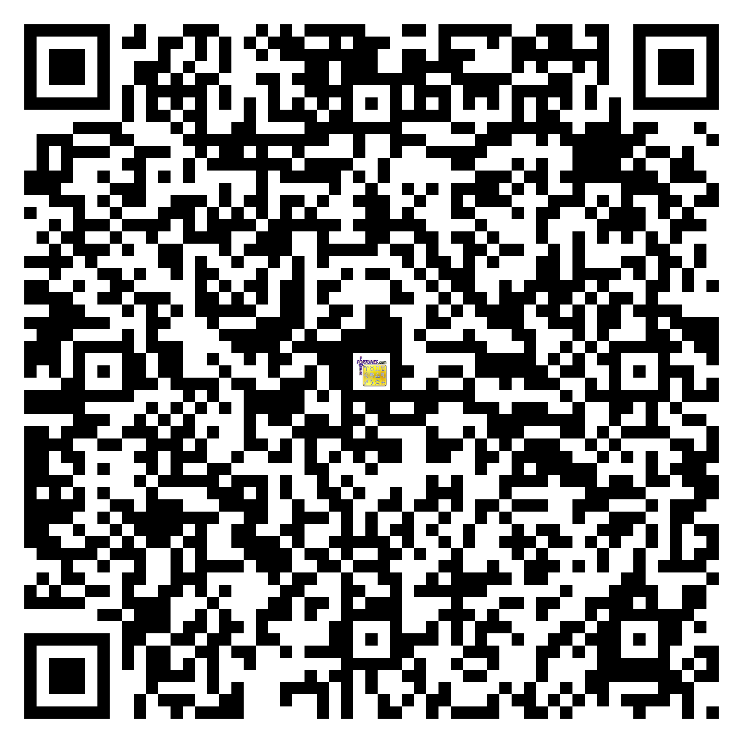 Download QR Code for PowerFortunes.com SKU# Pwr.cm101X107-s