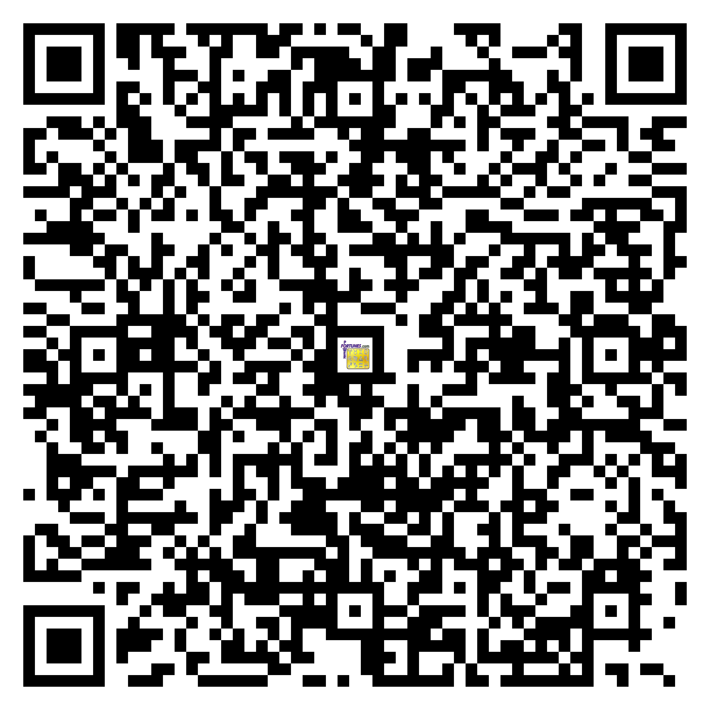 Download QR Code for PowerFortunes.com SKU# Pwr.cm105X111-s