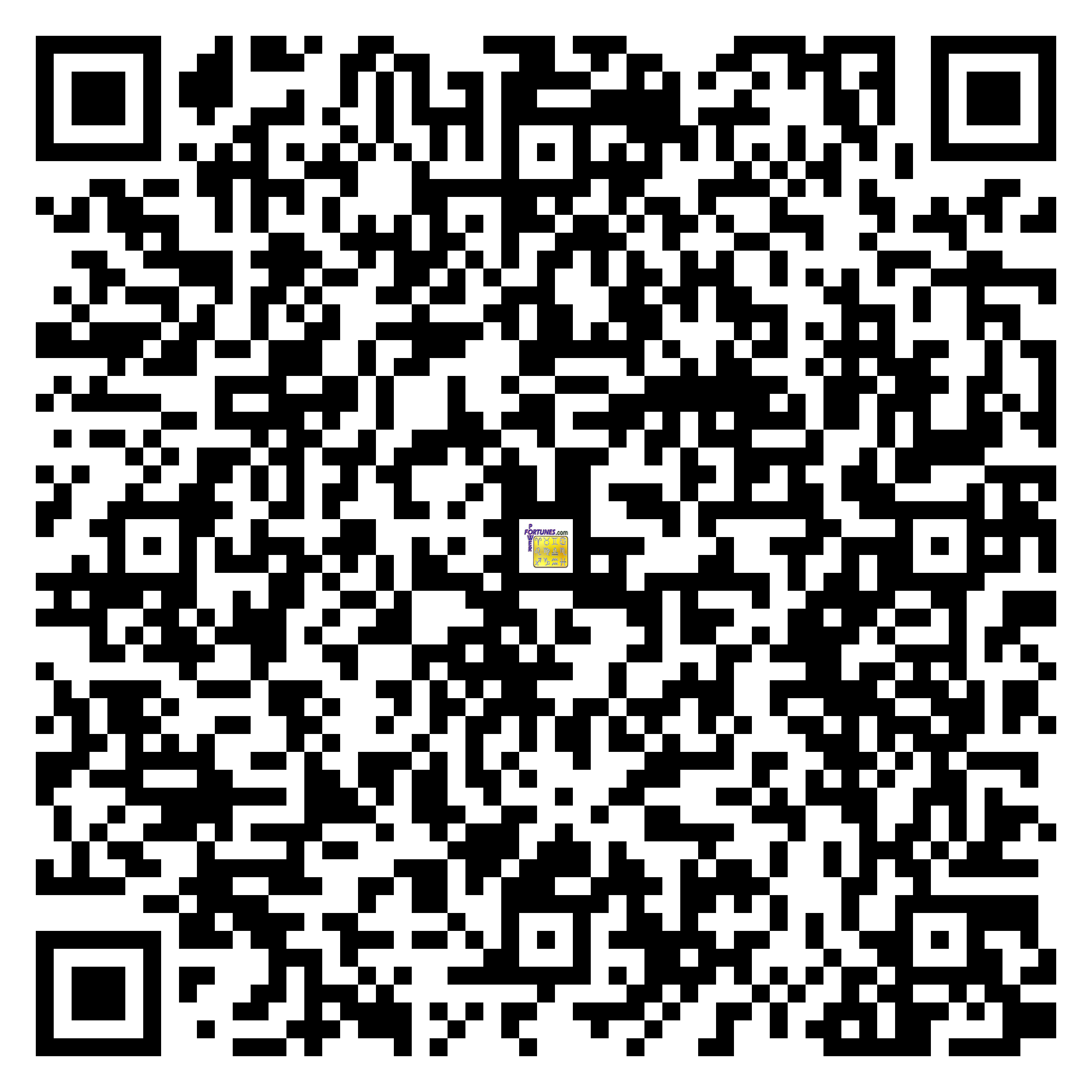 Download QR Code for PowerFortunes.com SKU# Pwr.cm108X114-s