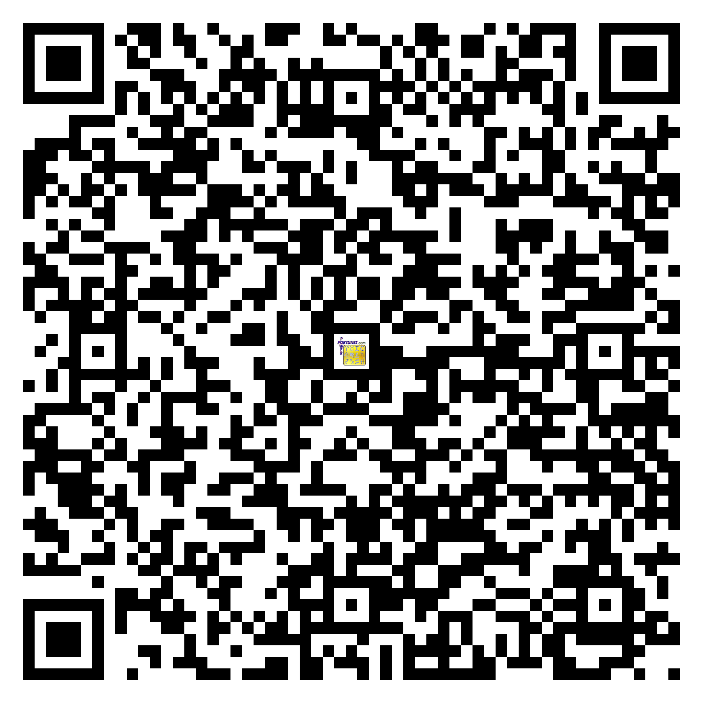 Download QR Code for PowerFortunes.com SKU# Pwr.cm109X175-s