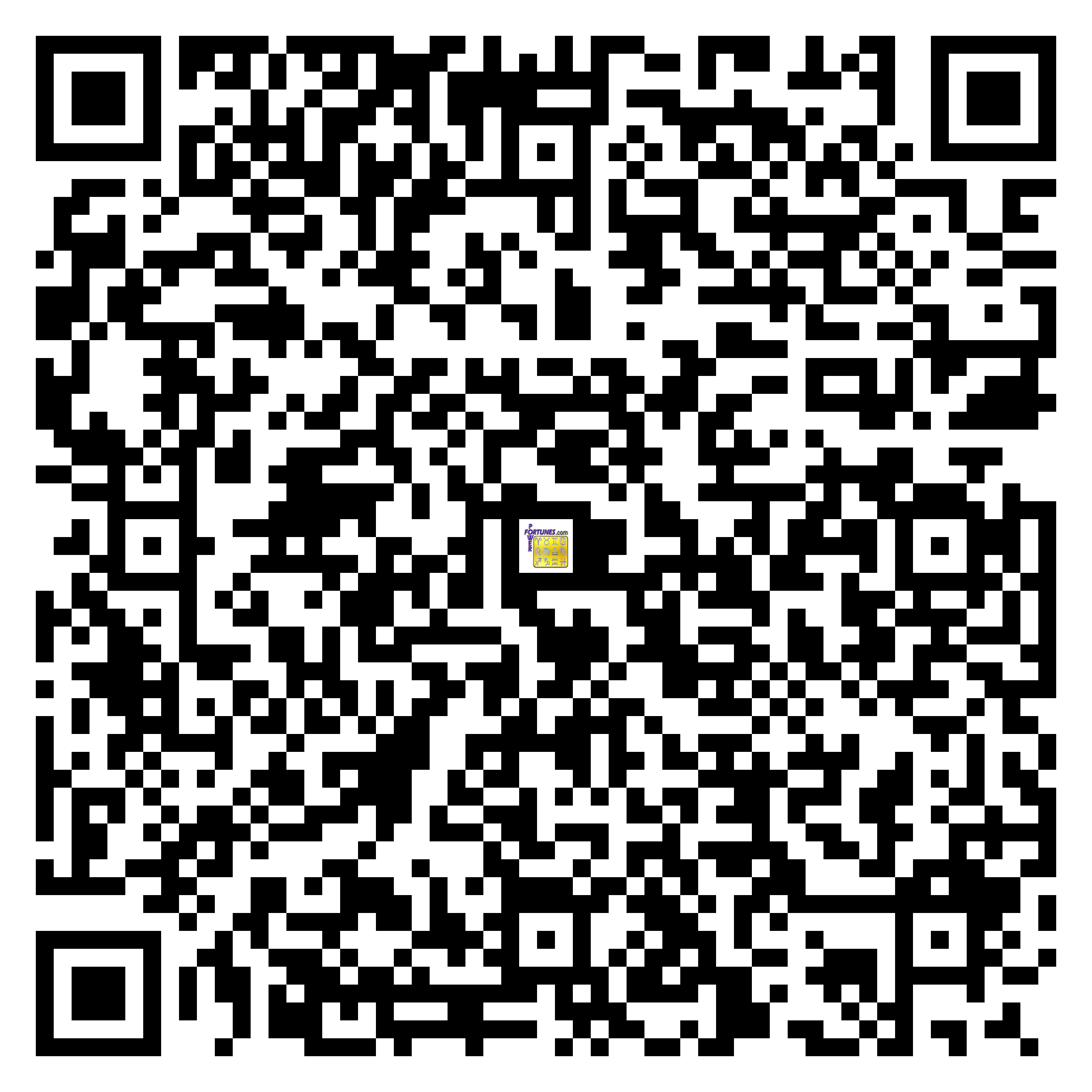 Download QR Code for PowerFortunes.com SKU# Pwr.cm110X176-s