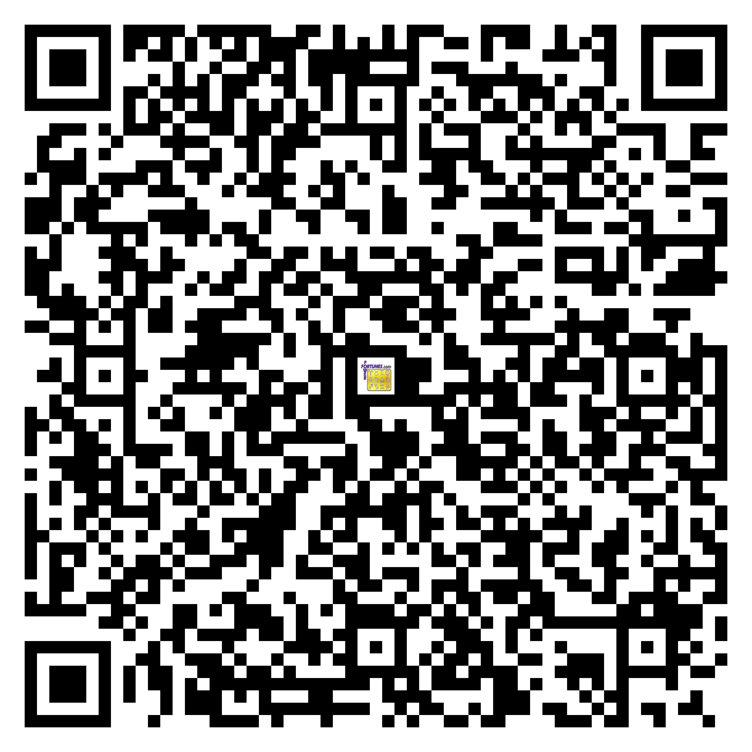 Download QR Code for PowerFortunes.com SKU# Pwr.cm110X176-s