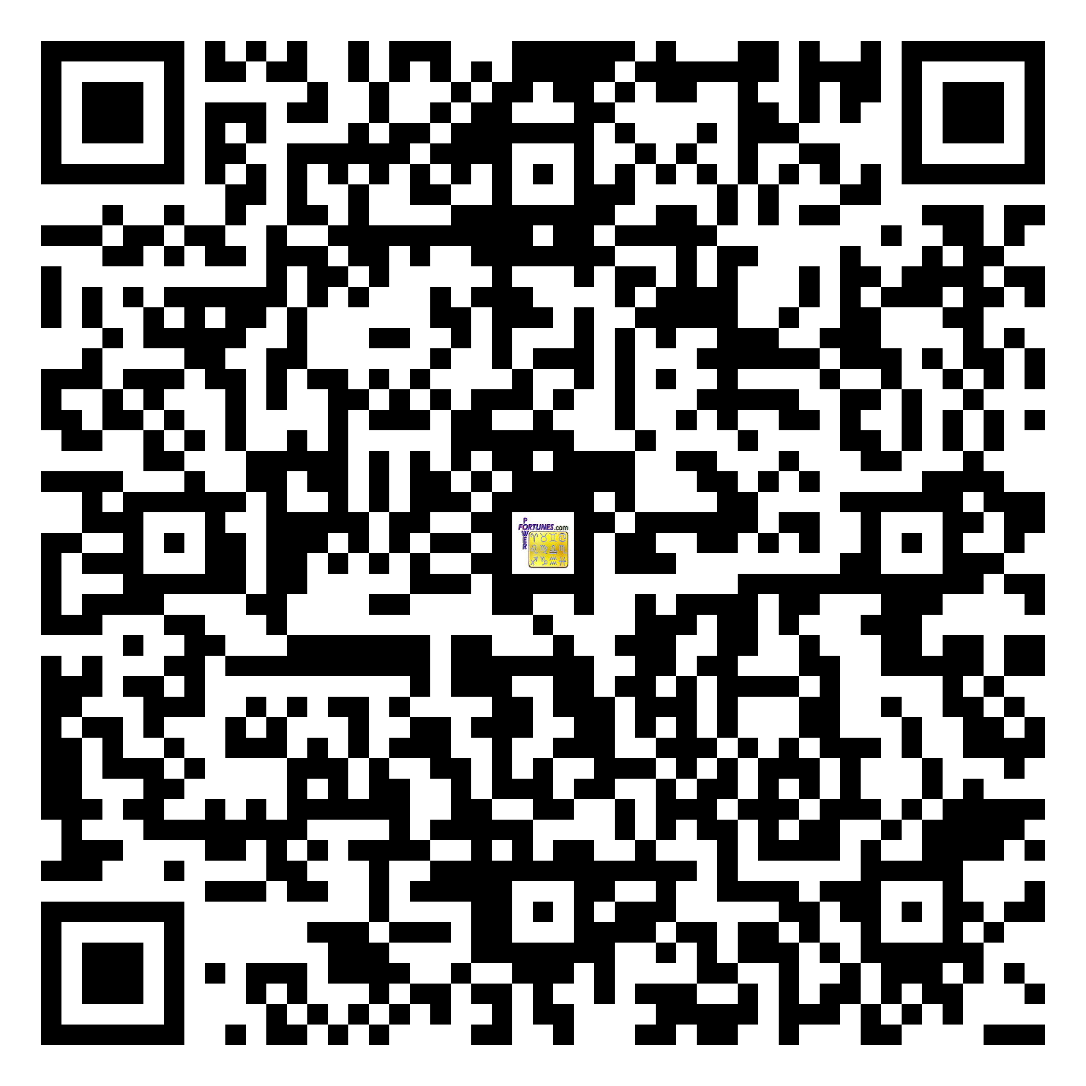Download QR Code for PowerFortunes.com SKU# Pwr.fy06X164-m