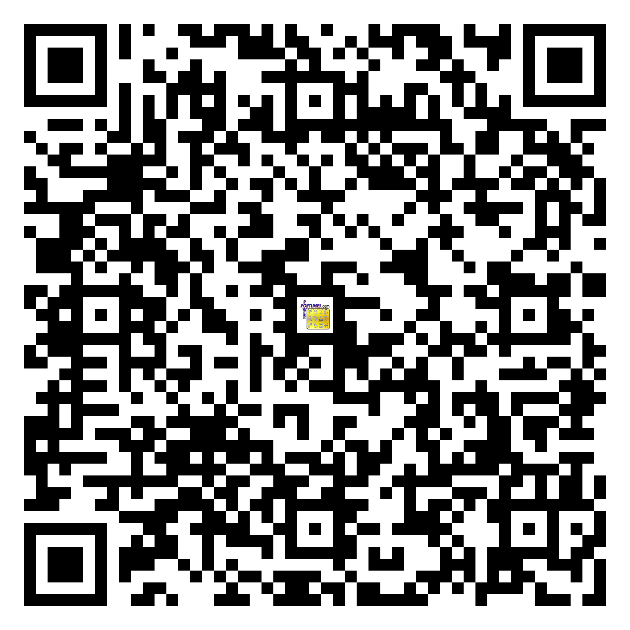 Download QR Code for PowerFortunes.com SKU# Pwr.fy11X10-m