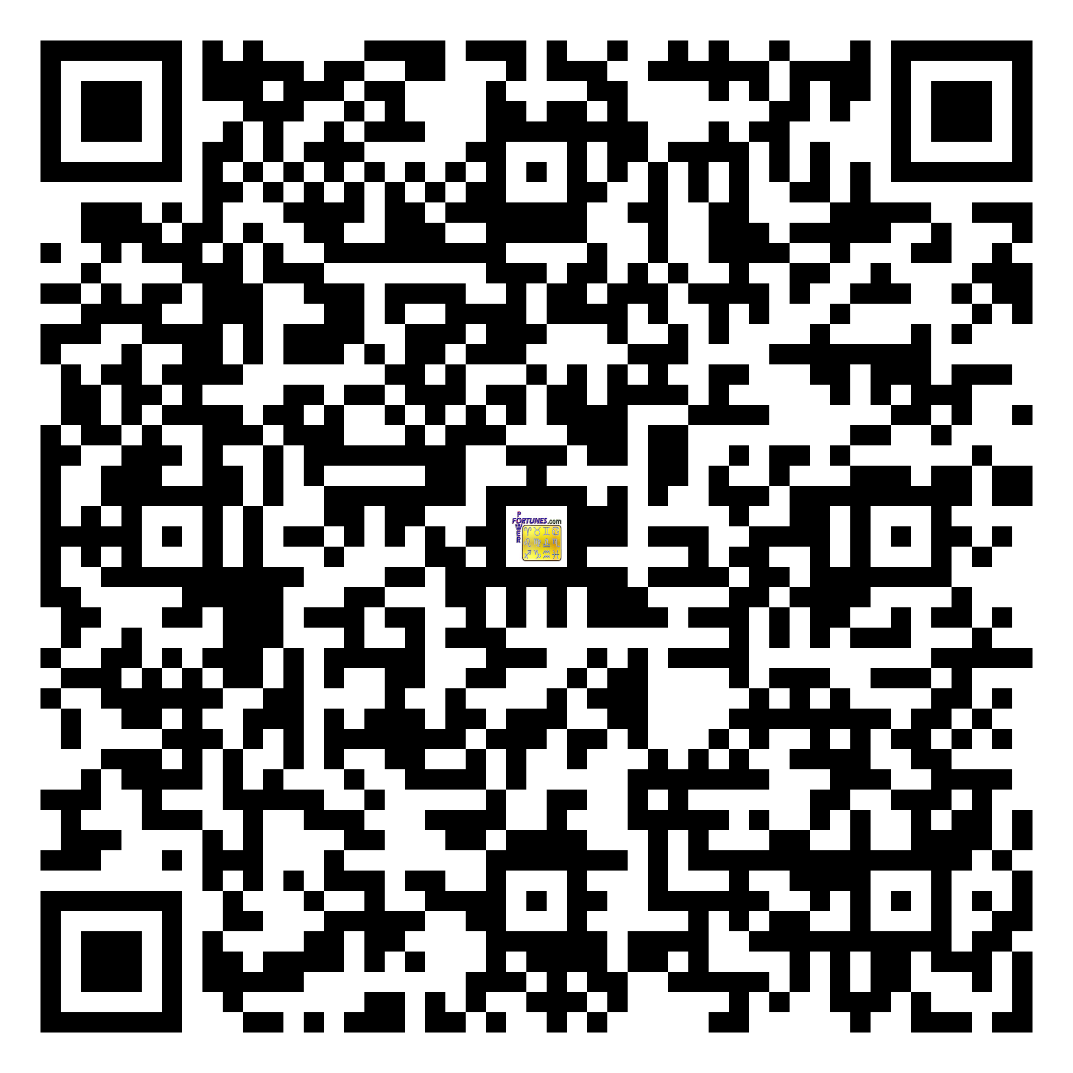 Download QR Code for PowerFortunes.com SKU# Pwr.fy17X17-m