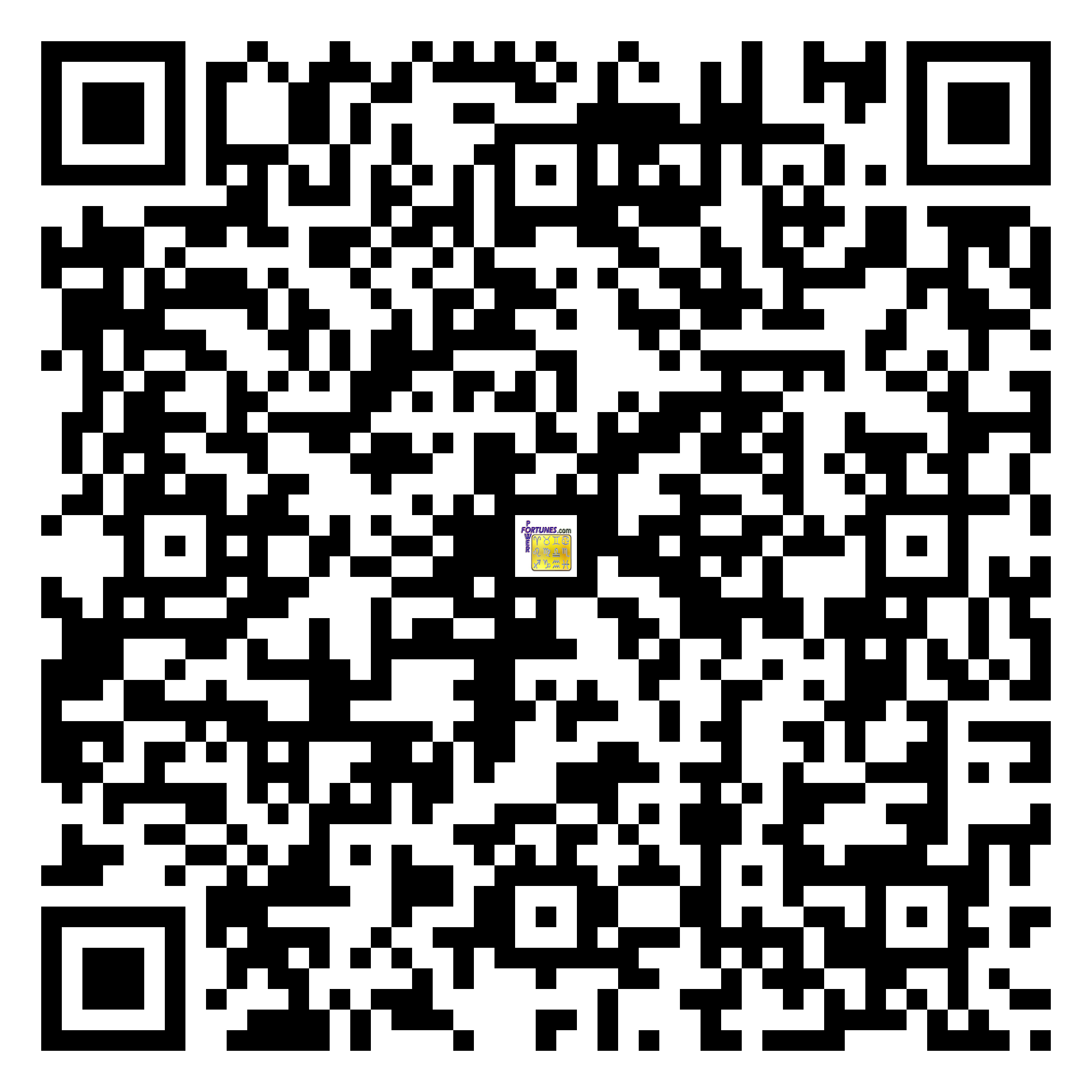 Download QR Code for PowerFortunes.com SKU# Pwr.fy19X04-m