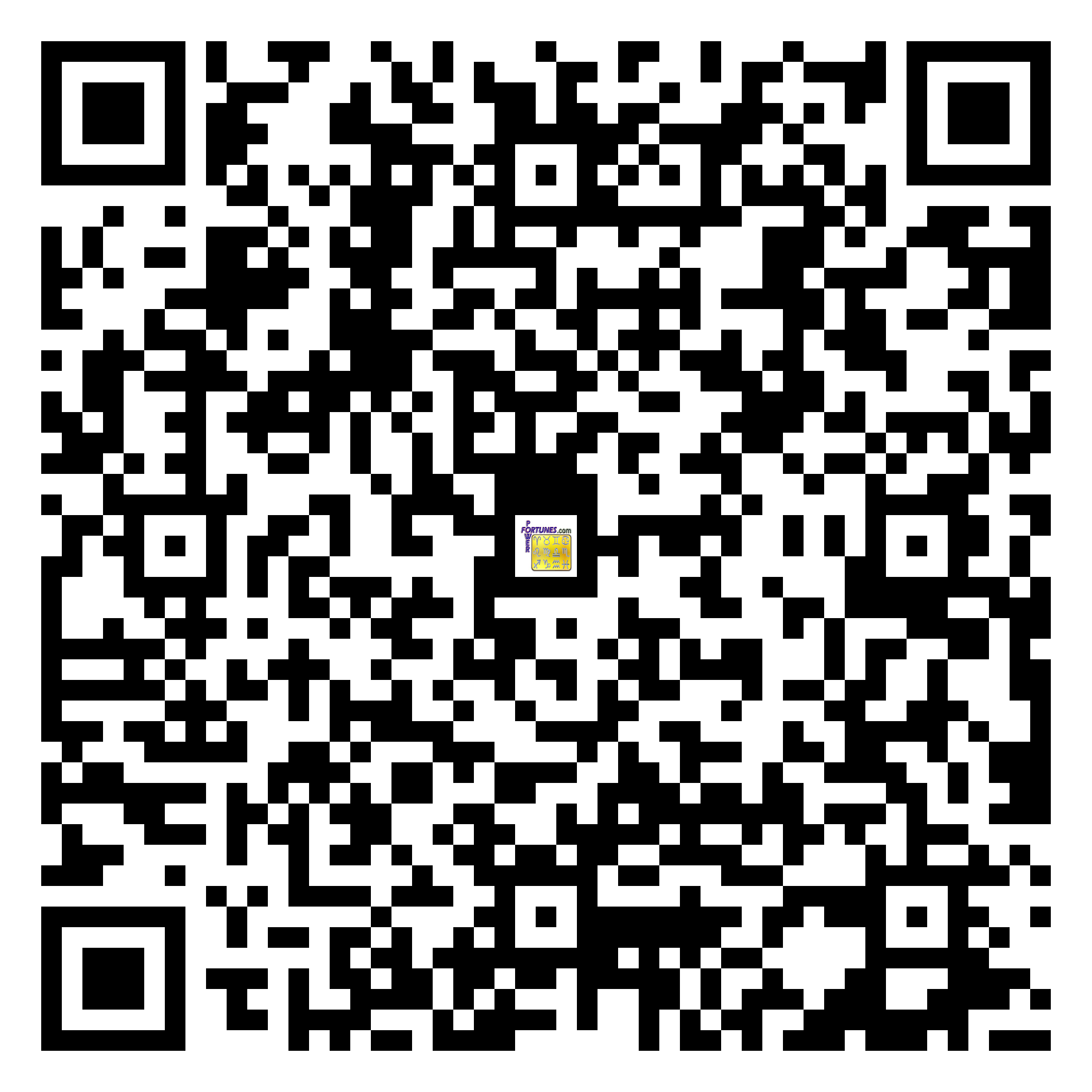 Download QR Code for PowerFortunes.com SKU# Pwr.fy20X07-m