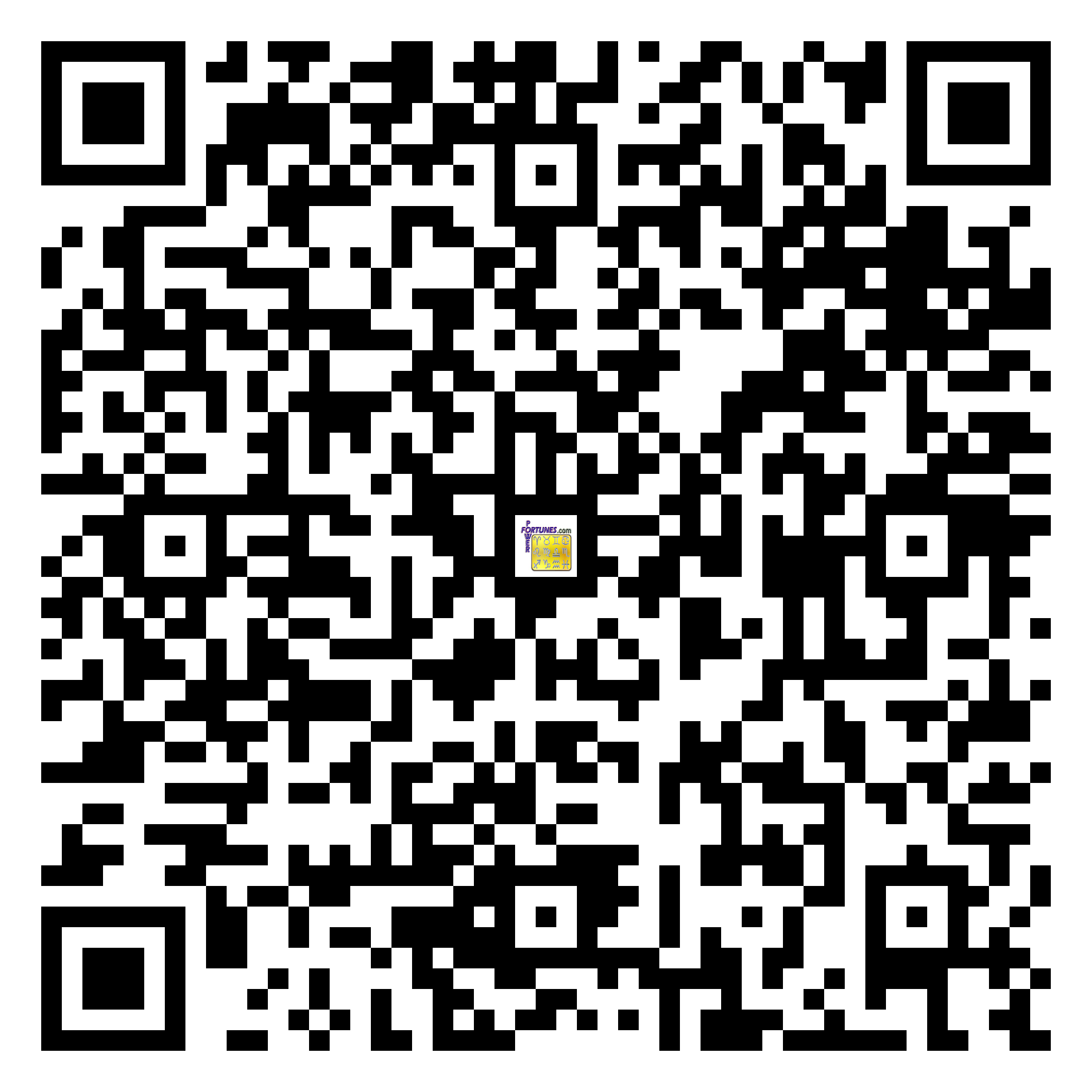 Download QR Code for PowerFortunes.com SKU# Pwr.fy23X09-m