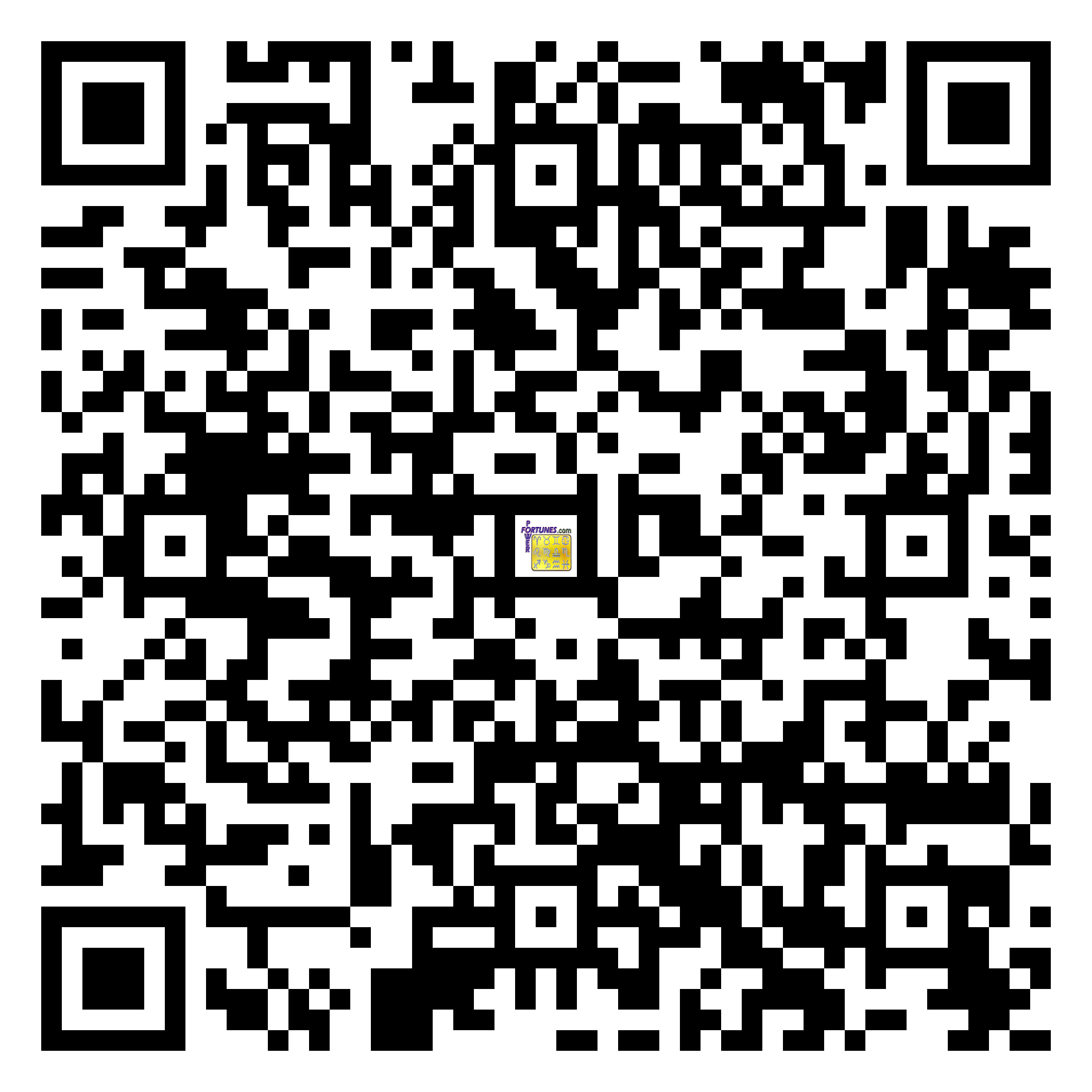 Download QR Code for PowerFortunes.com SKU# Pwr.fy27X08-m
