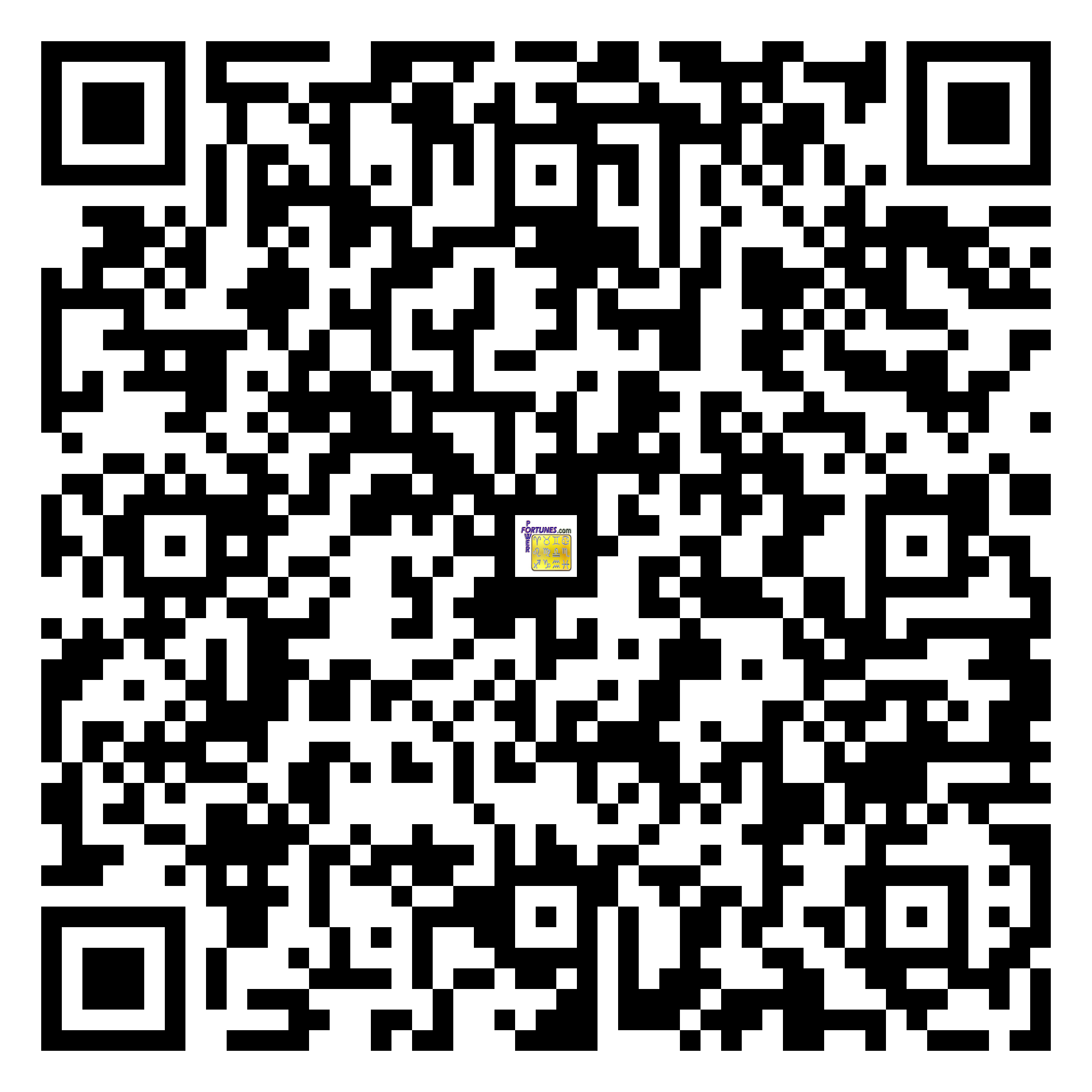 Download QR Code for PowerFortunes.com SKU# Pwr.fy28X52-m
