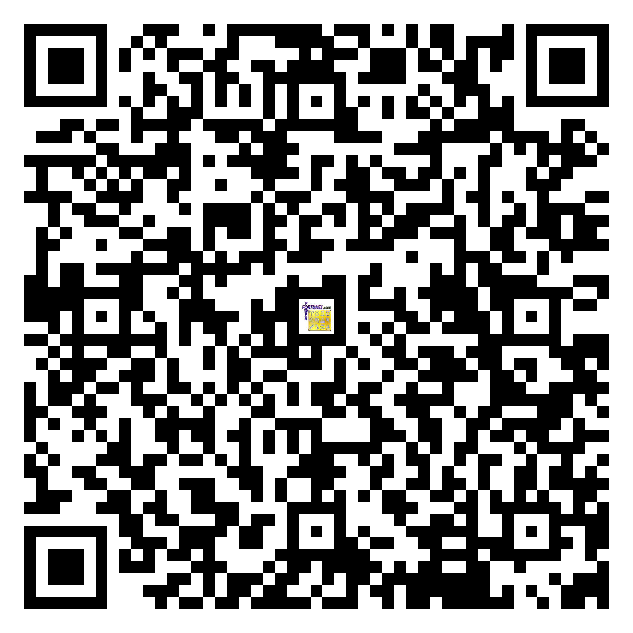 Download QR Code for PowerFortunes.com SKU# Pwr.fy30X41-m