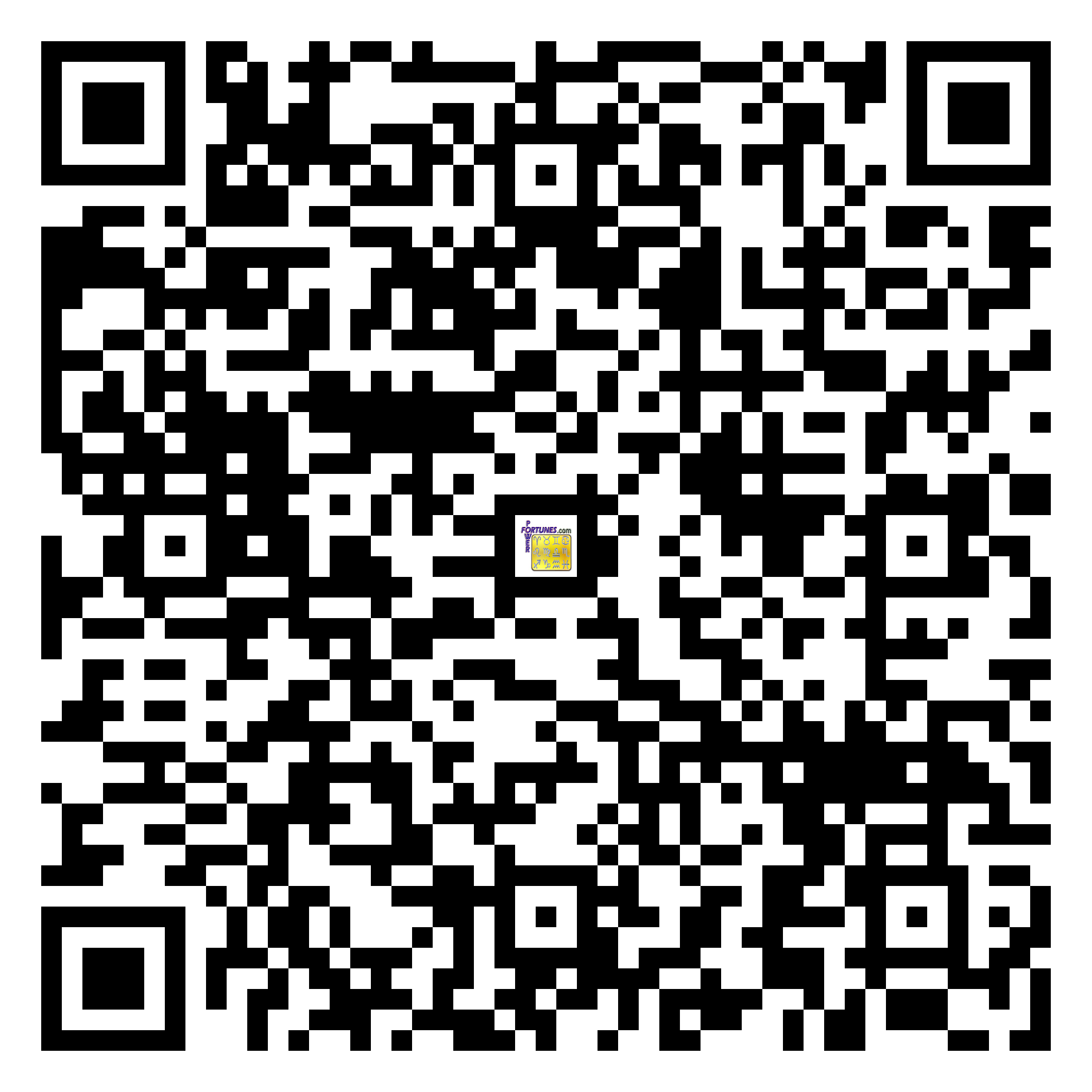 Download QR Code for PowerFortunes.com SKU# Pwr.fy31X42-m