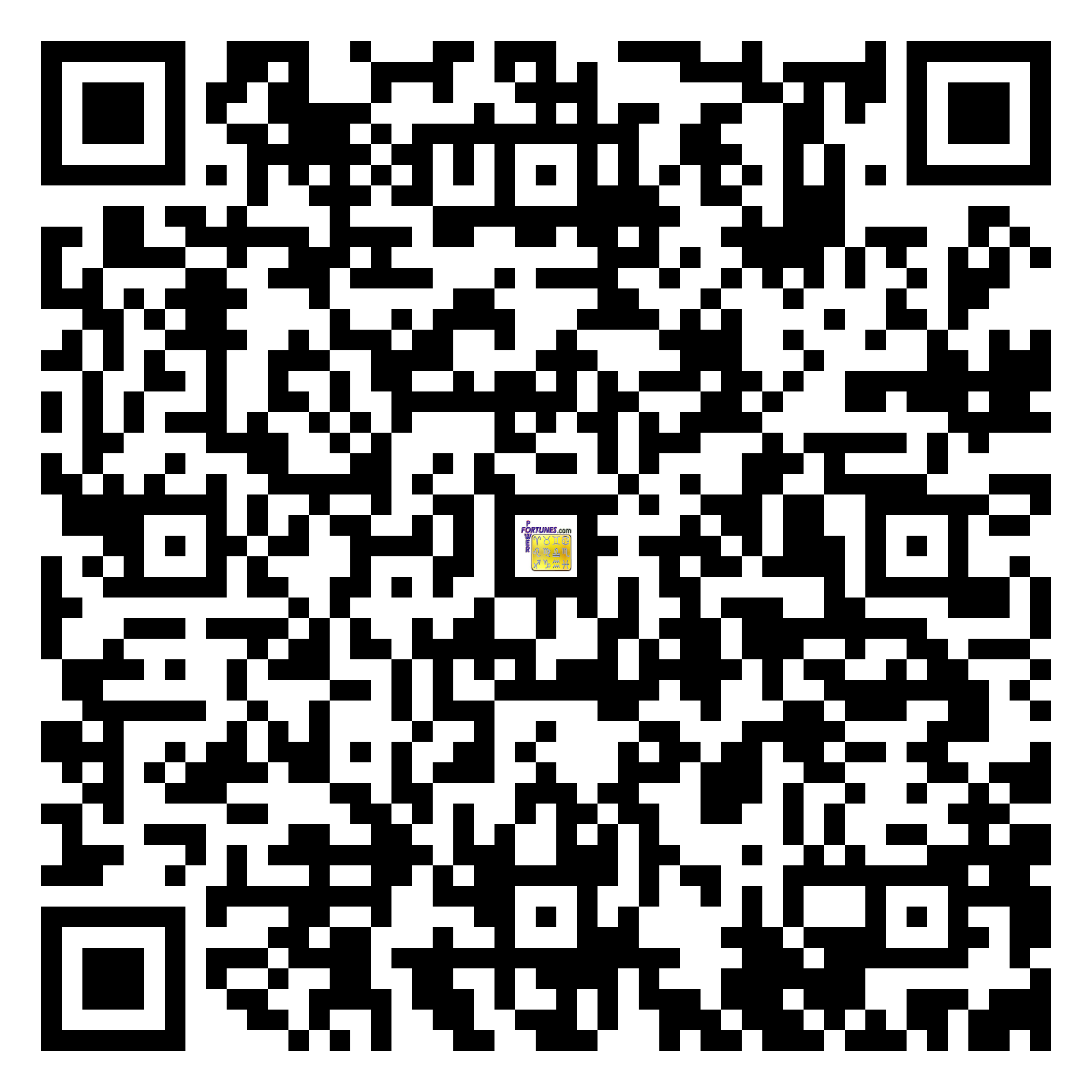 Download QR Code for PowerFortunes.com SKU# Pwr.fy33X51-m