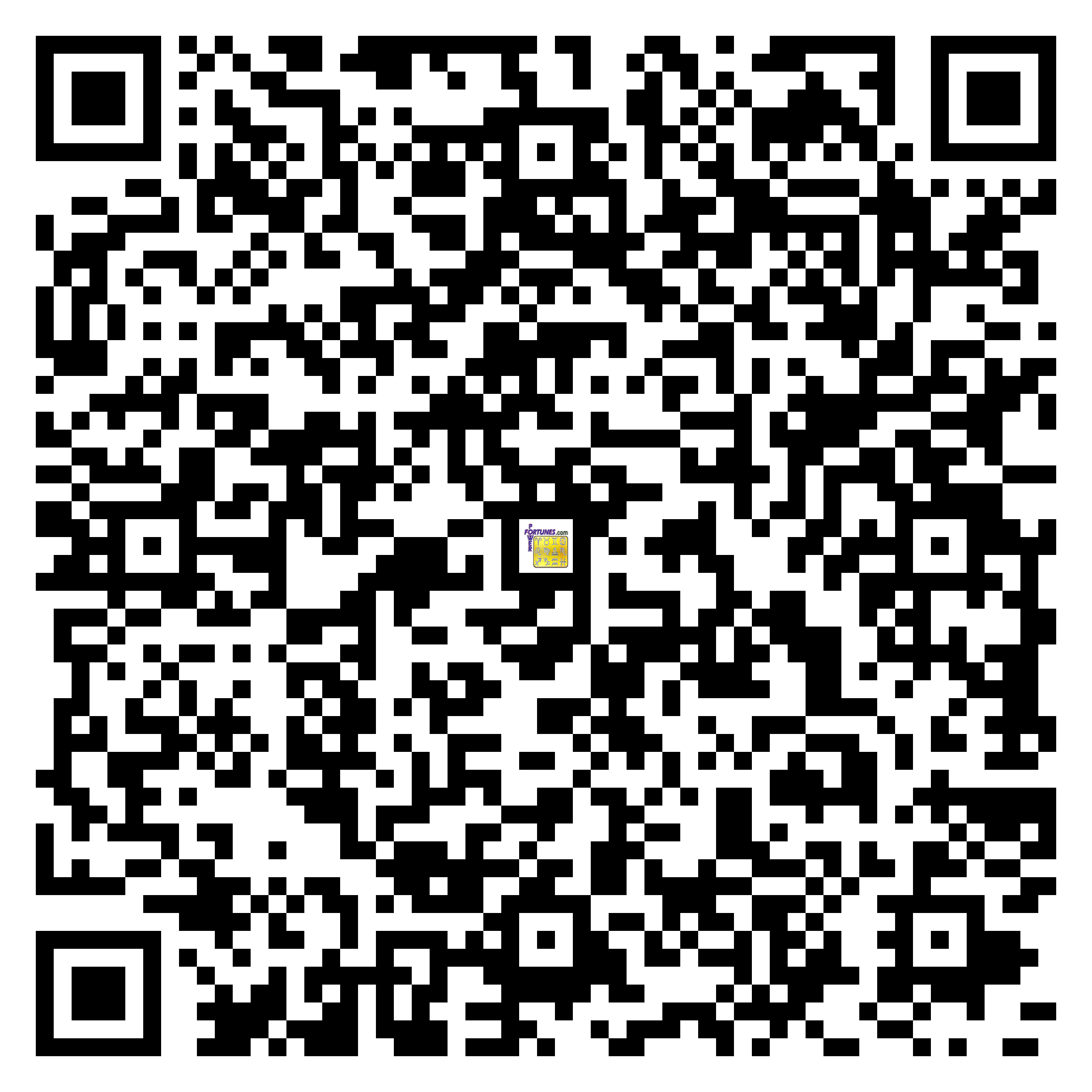 Download QR Code for PowerFortunes.com SKU# Pwr.fy37X23-s