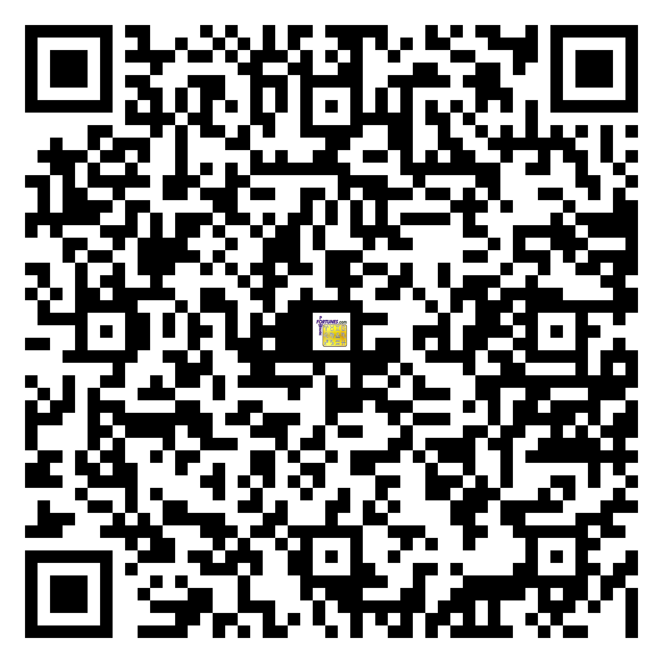 Download QR Code for PowerFortunes.com SKU# Pwr.fy93X149-m