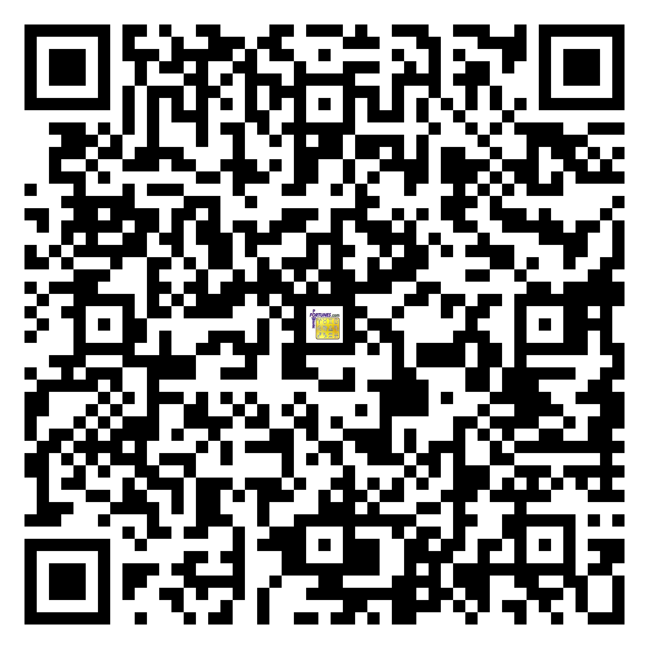 Download QR Code for PowerFortunes.com SKU# Pwr.fy97X158-m