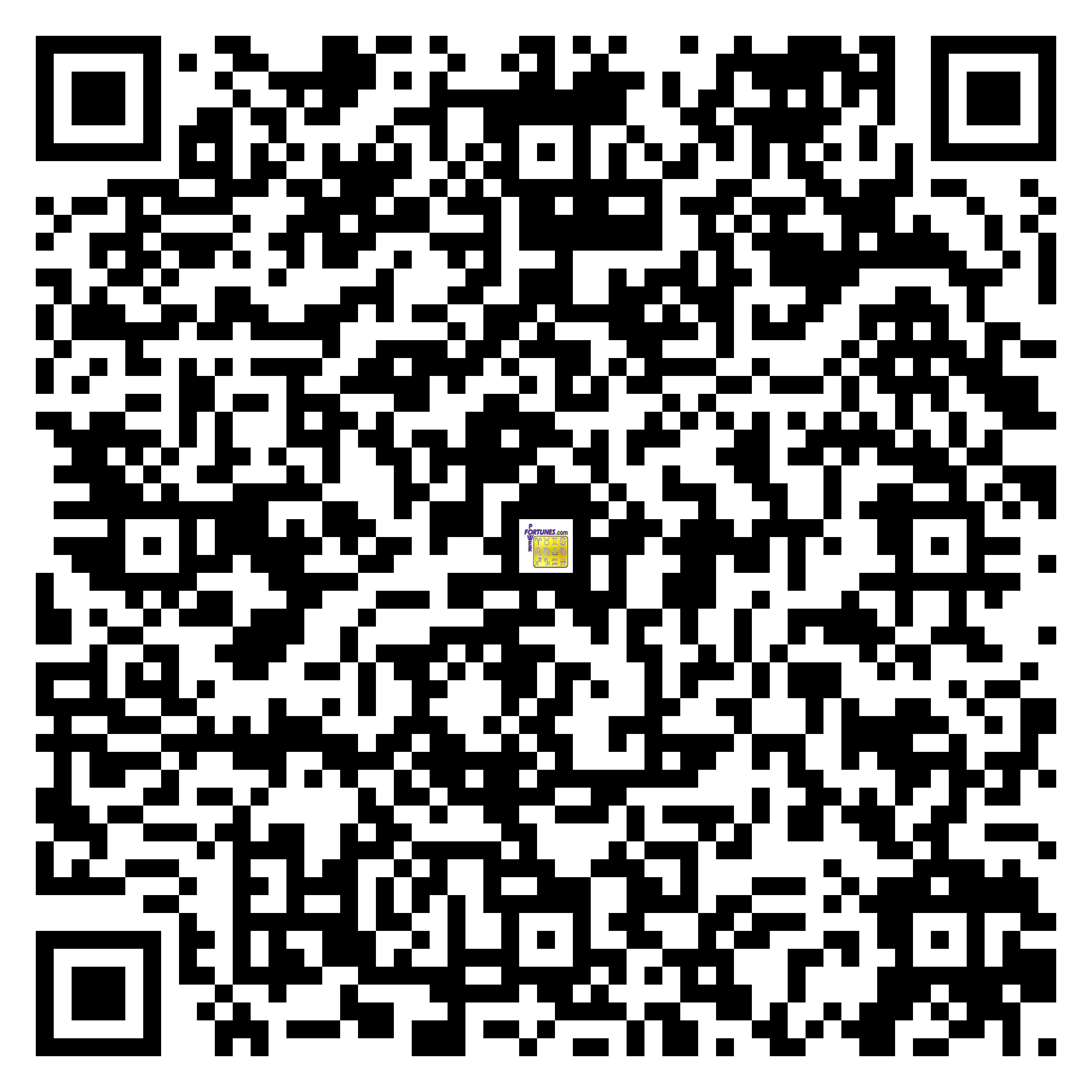Download QR Code for PowerFortunes.com SKU# Pwr.kr68X92-s