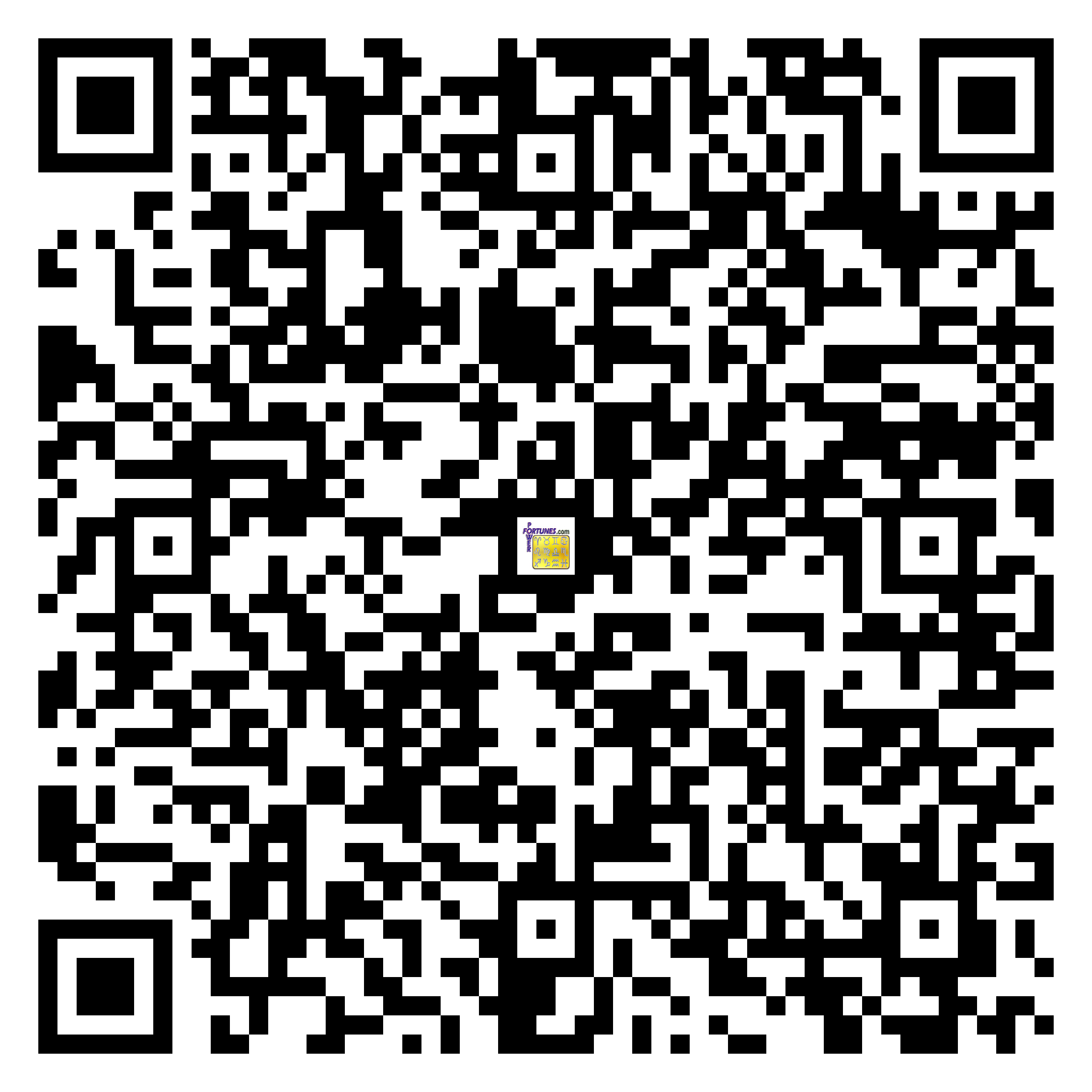 Download QR Code for PowerFortunes.com SKU# Pwr.kr70X95-s