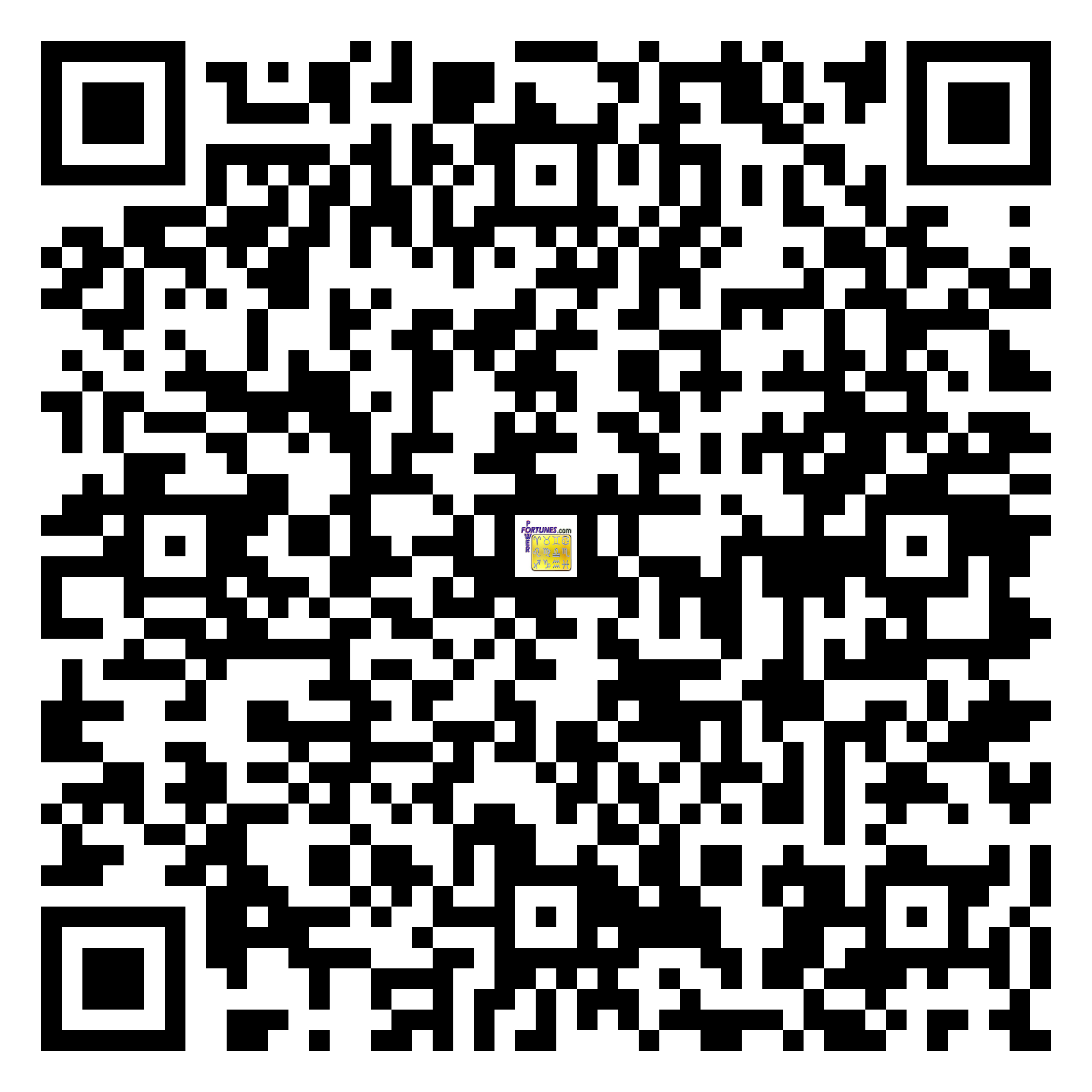 Download QR Code for PowerFortunes.com SKU# Pwr.lk56X96-s