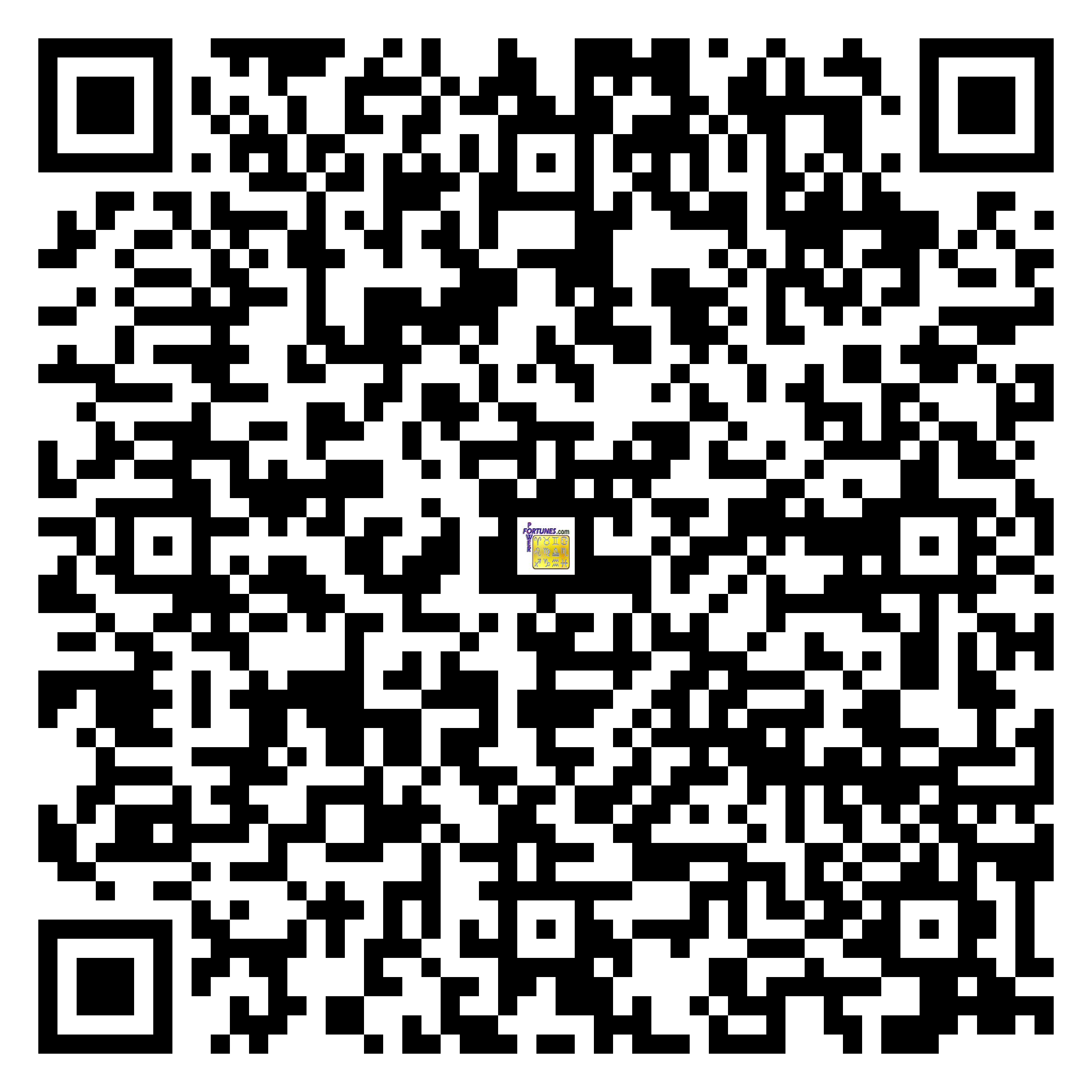 Download QR Code for PowerFortunes.com SKU# Pwr.lk79X136-m
