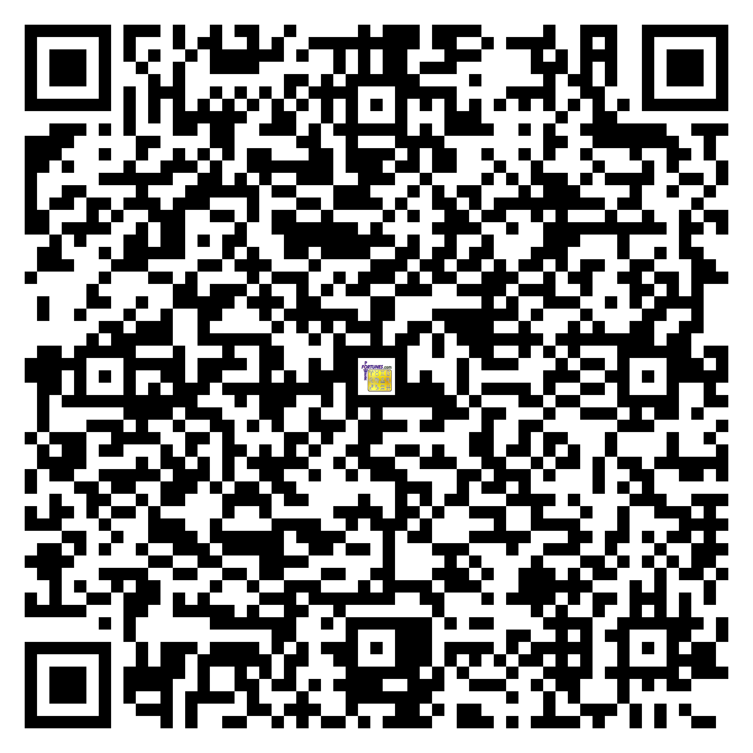 Download QR Code for PowerFortunes.com SKU# Pwr.lk82X139-m