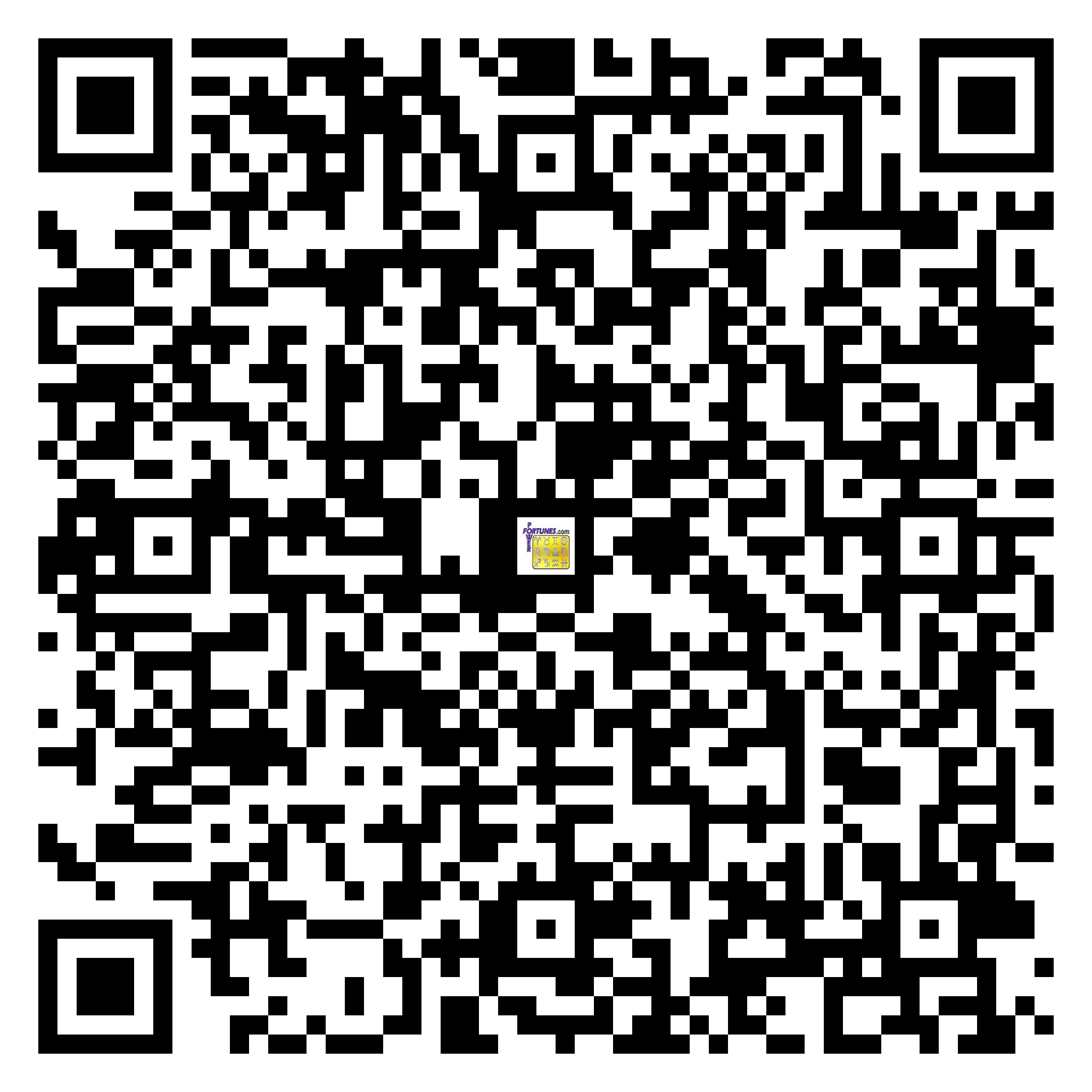 Download QR Code for PowerFortunes.com SKU# Pwr.lk84X141-m