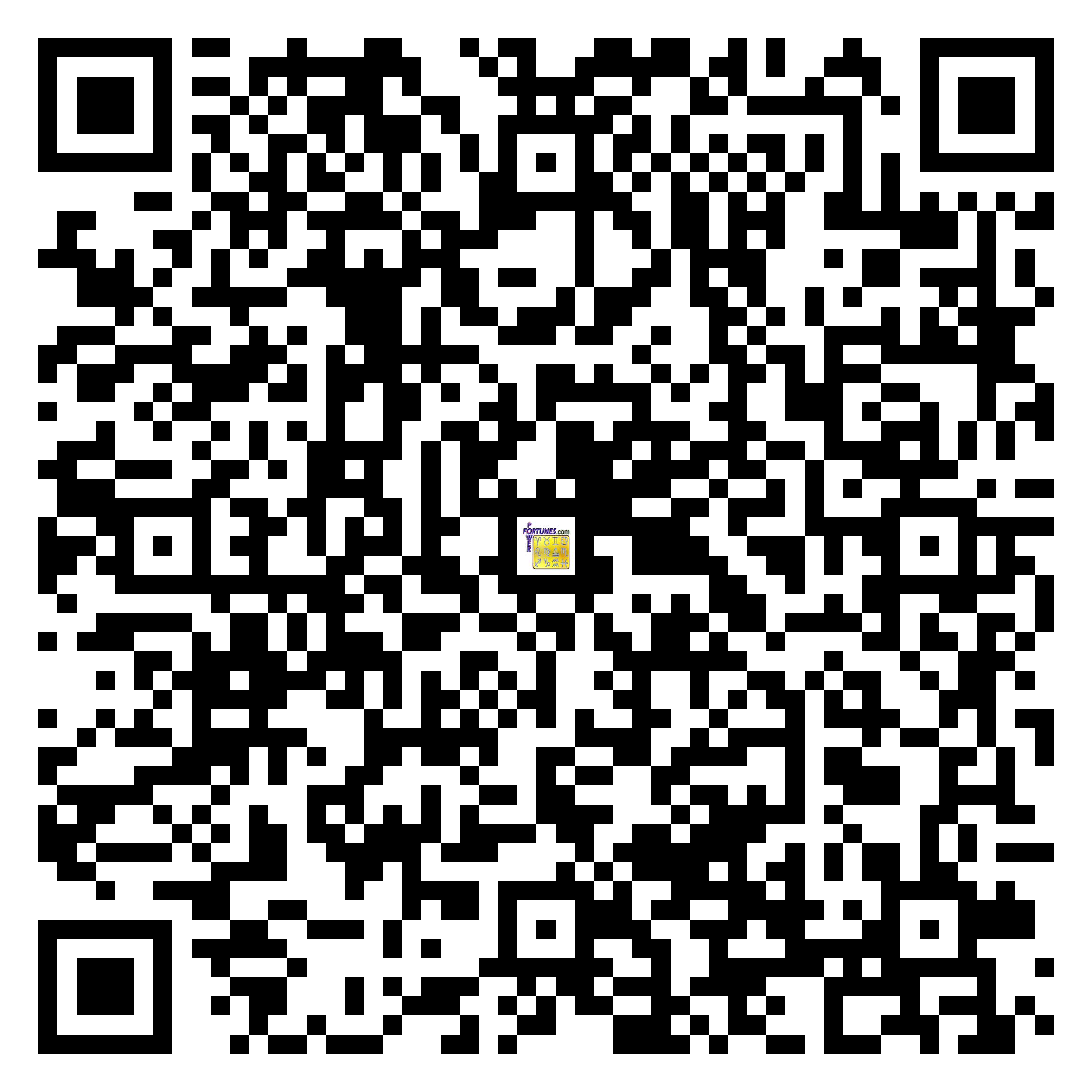 Download QR Code for PowerFortunes.com SKU# Pwr.lk86X146-m