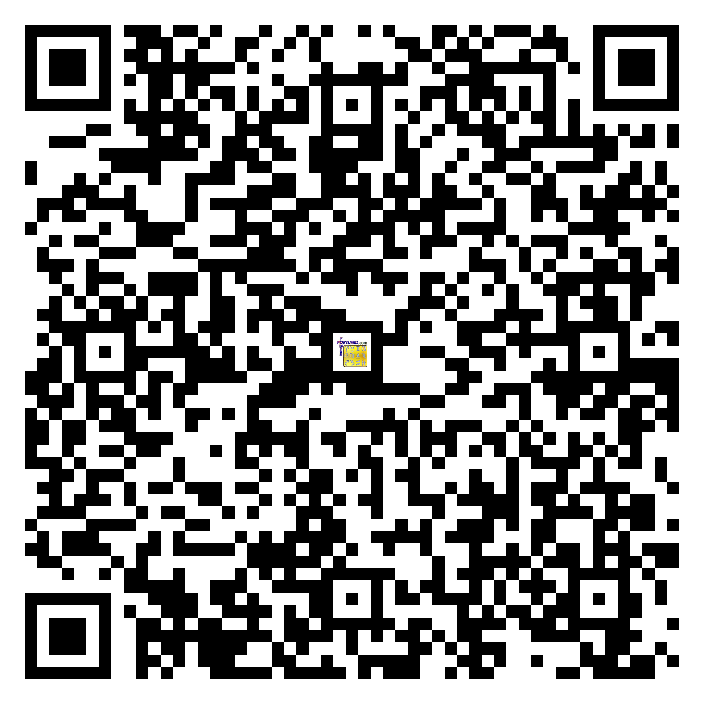 Download QR Code for PowerFortunes.com SKU# Pwr.lk88X144-s
