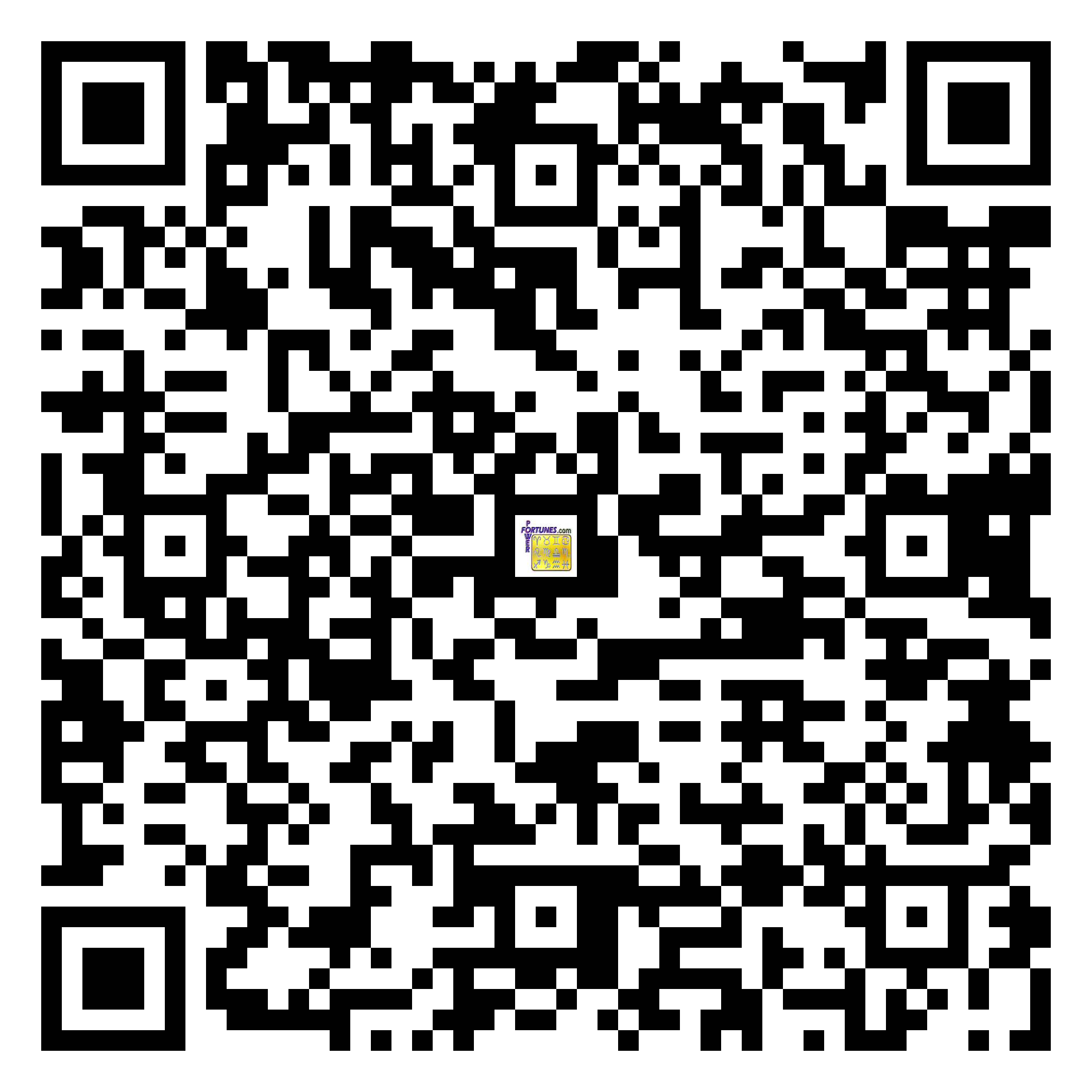 Download QR Code for PowerFortunes.com SKU# Pwr.mn129X81-s