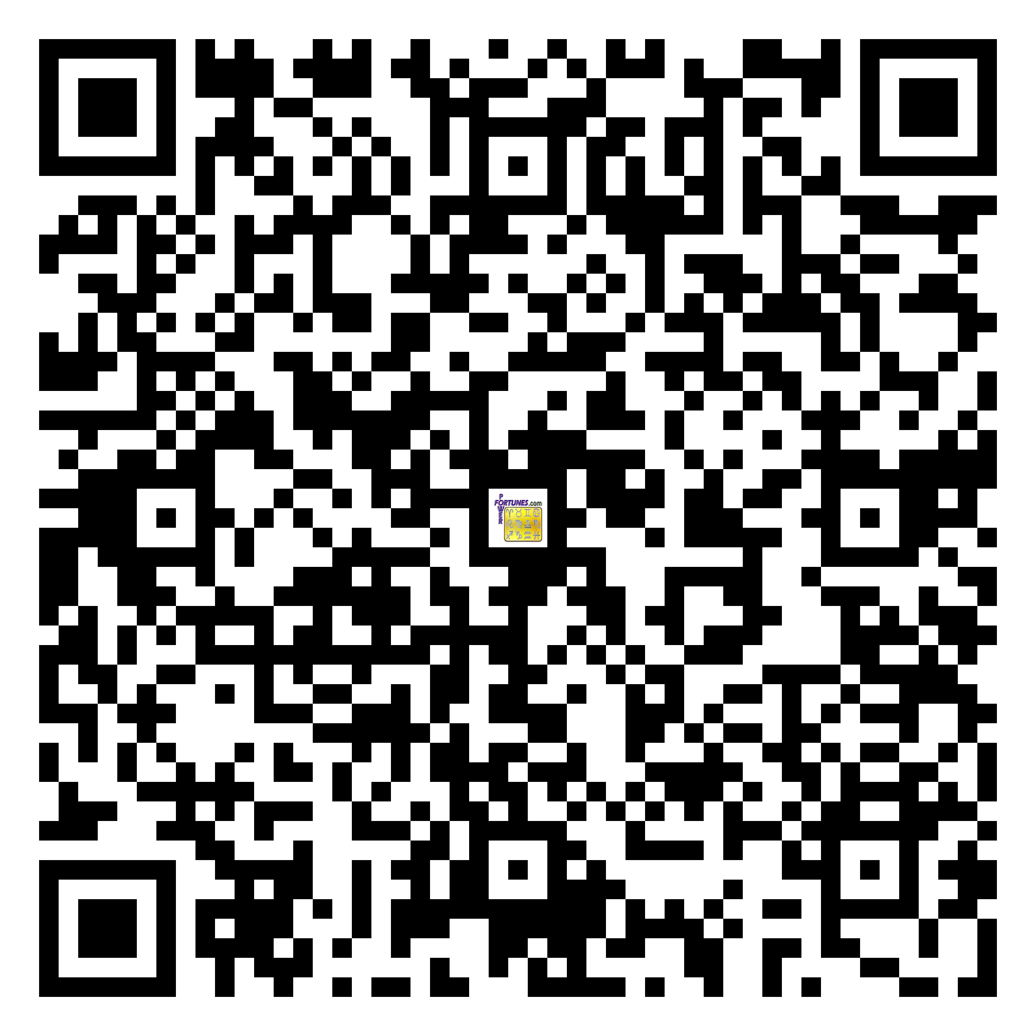 Download QR Code for PowerFortunes.com SKU# Pwr.mn134X57-s