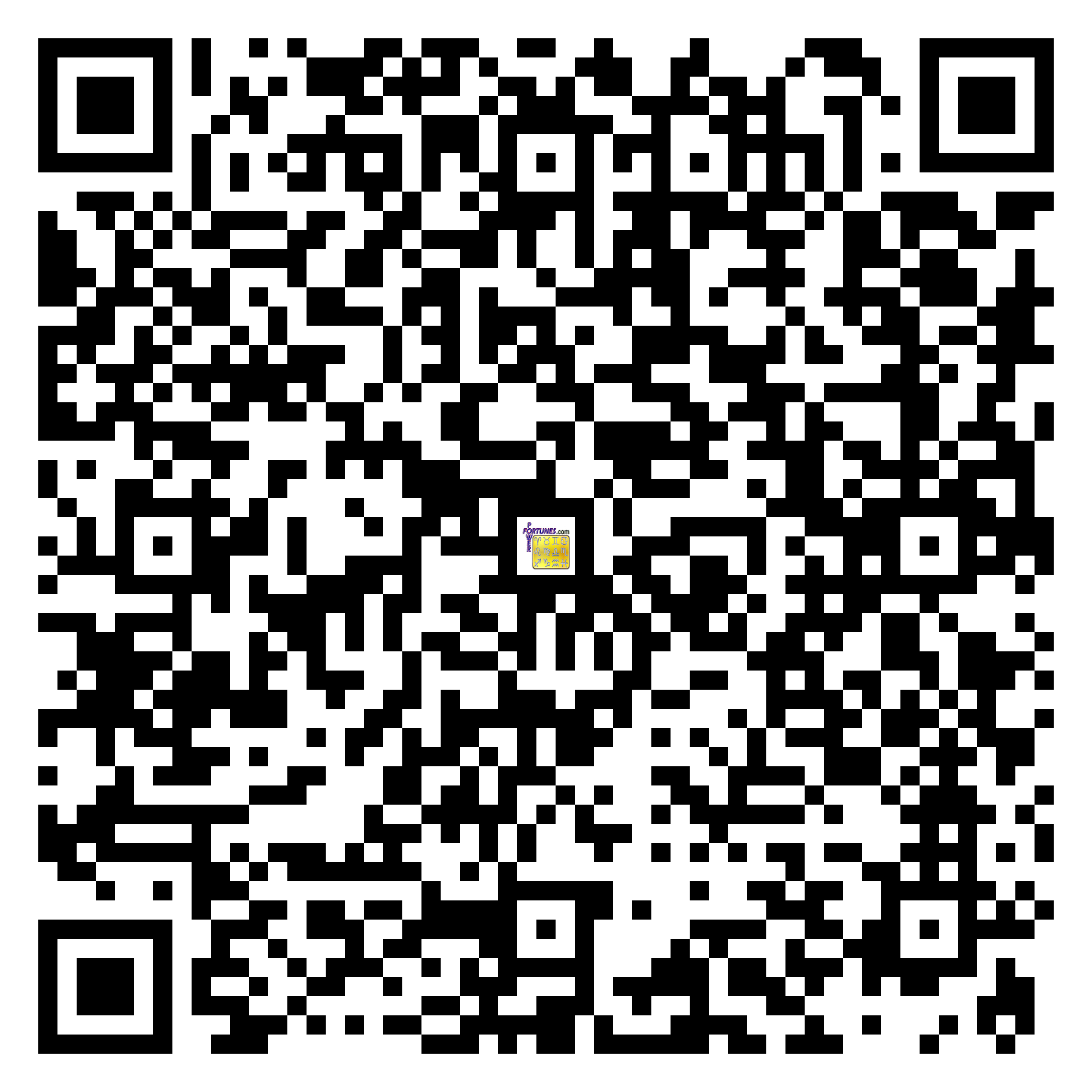 Download QR Code for PowerFortunes.com SKU# Pwr.mn136X58-s
