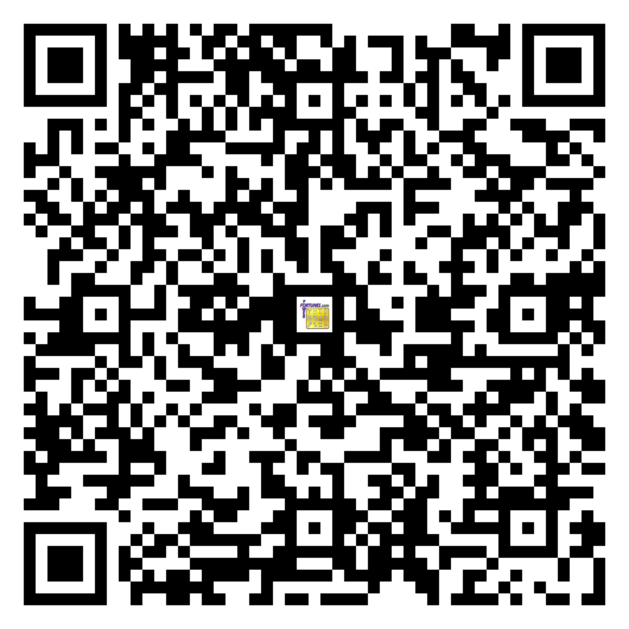 Download QR Code for PowerFortunes.com SKU# Pwr.mn137X59-s