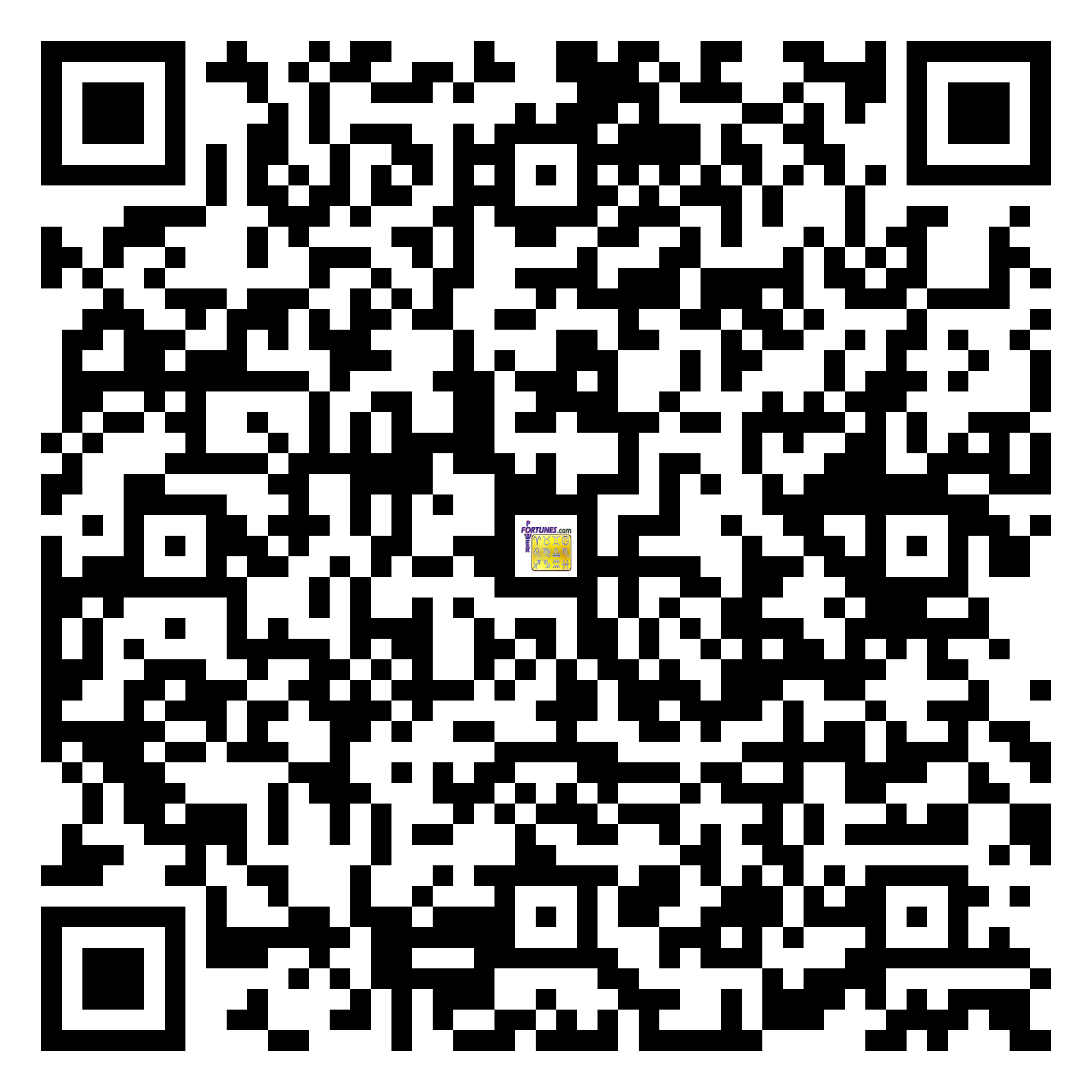 Download QR Code for PowerFortunes.com SKU# Pwr.mn138X67-s