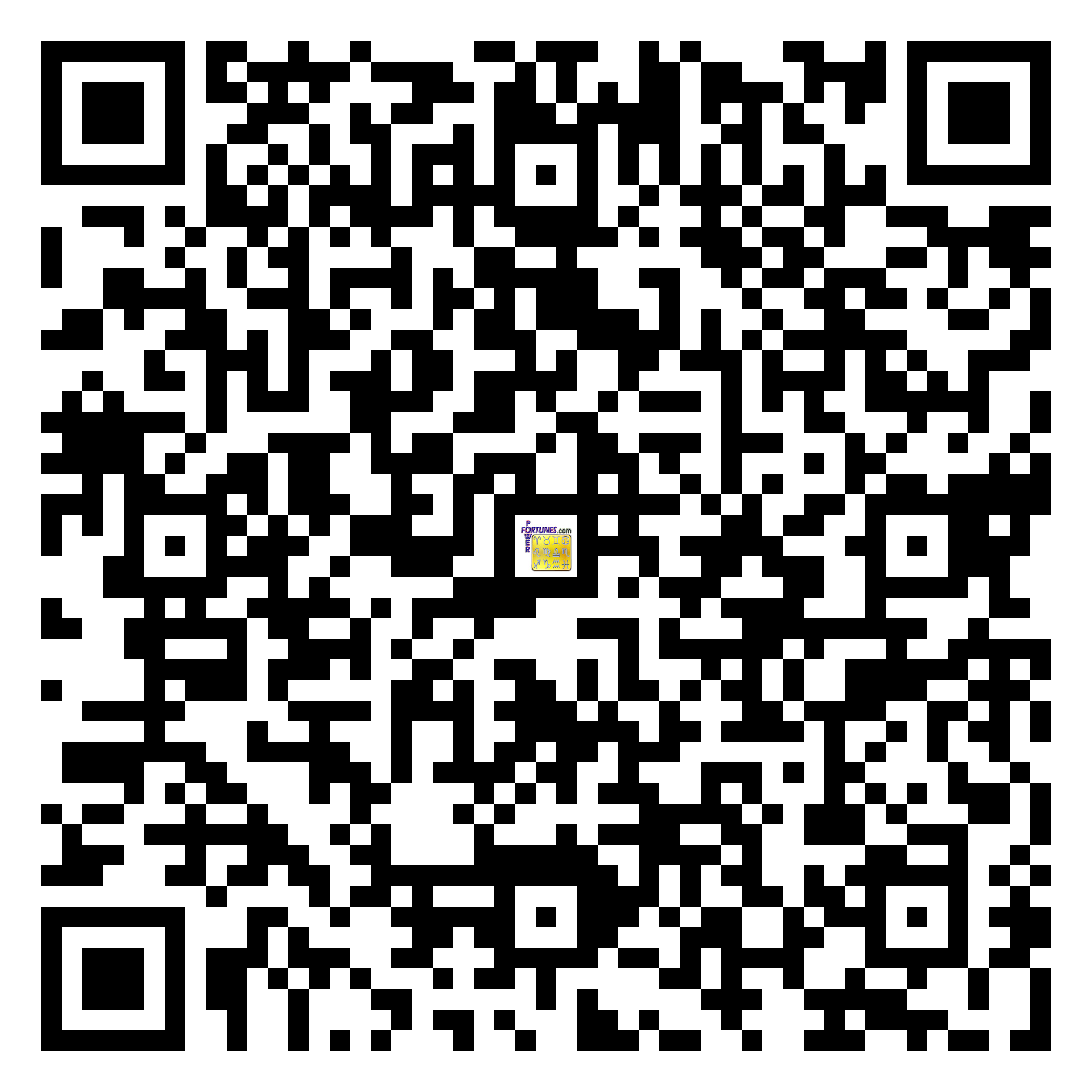 Download QR Code for PowerFortunes.com SKU# Pwr.mn143X82-s