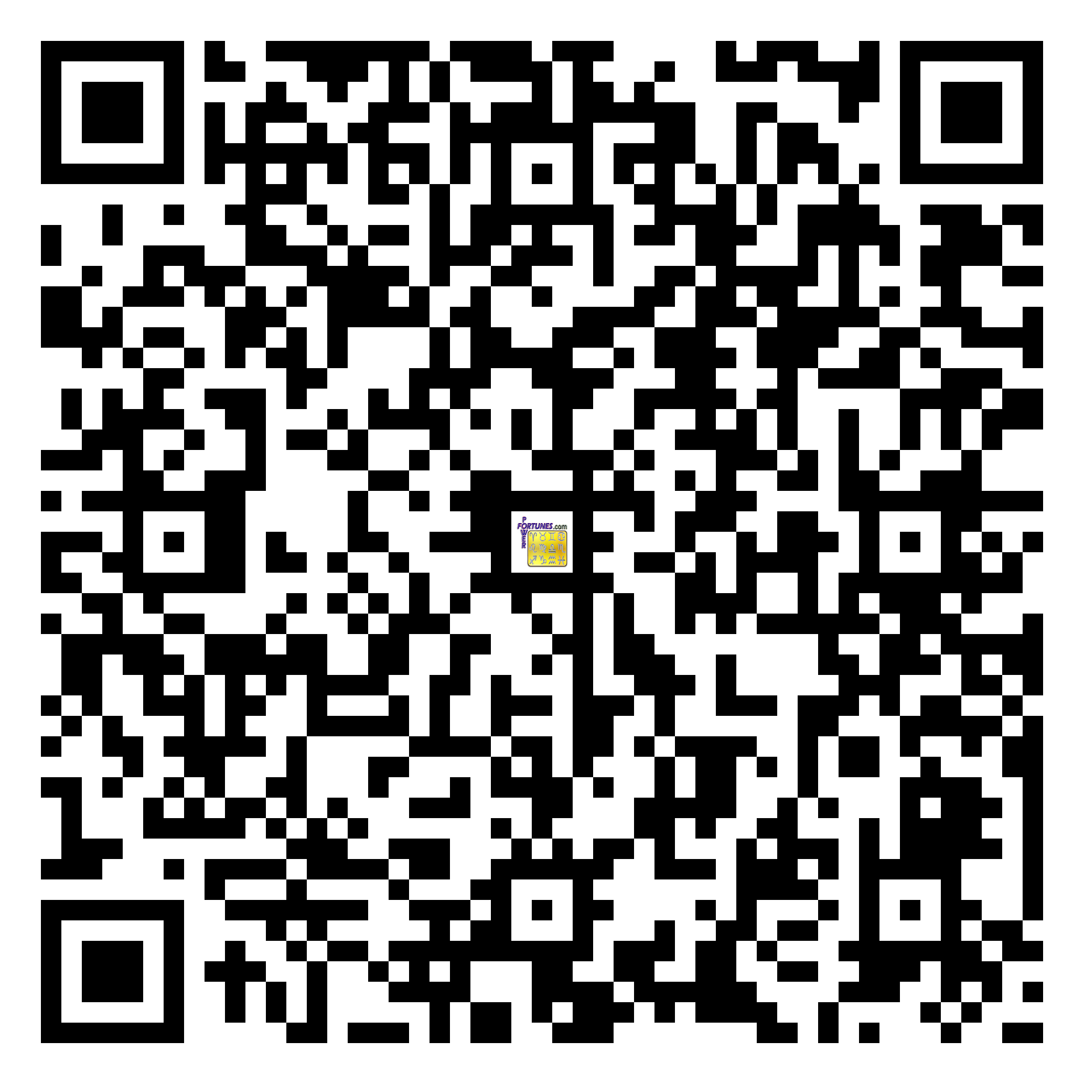 Download QR Code for PowerFortunes.com SKU# Pwr.mn148X130-s