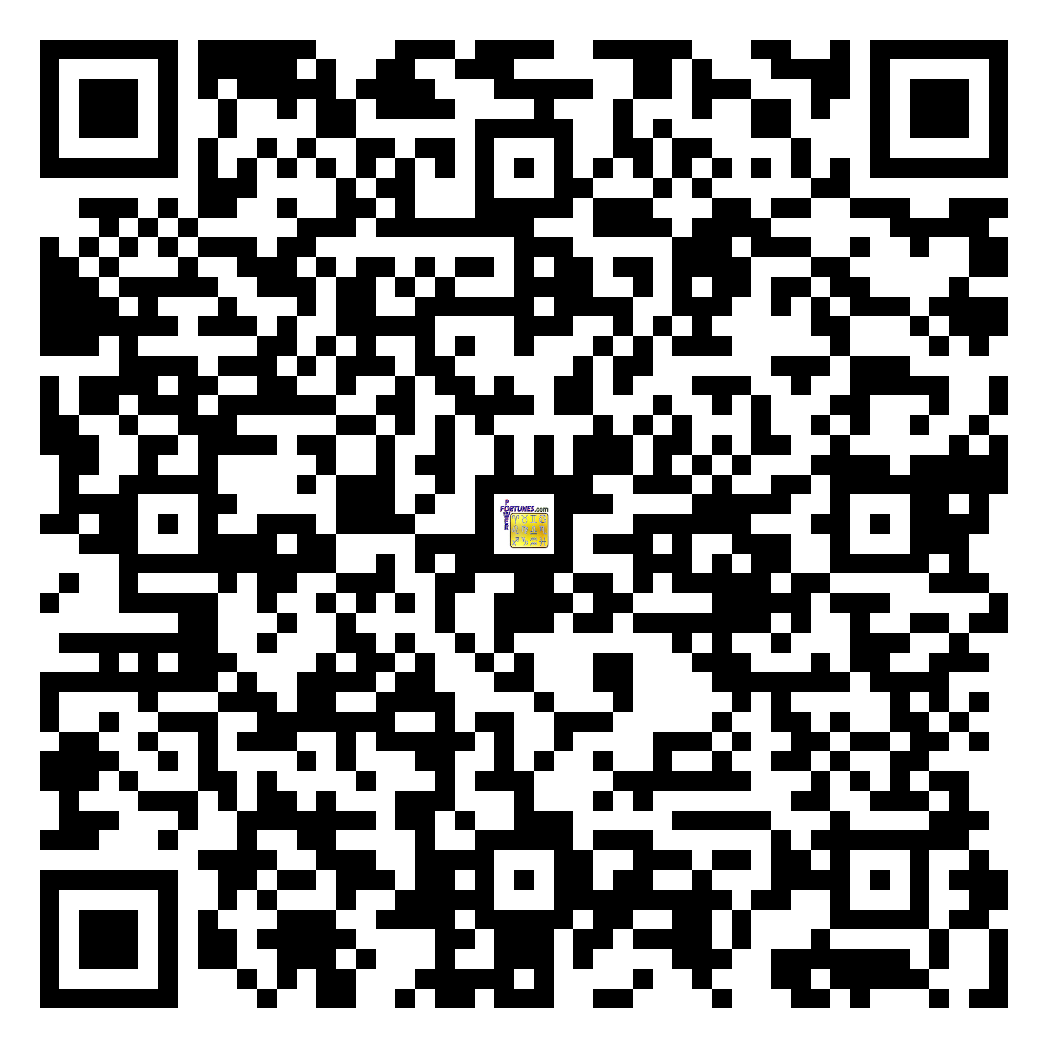 Download QR Code for PowerFortunes.com SKU# Pwr.mn149X78-s