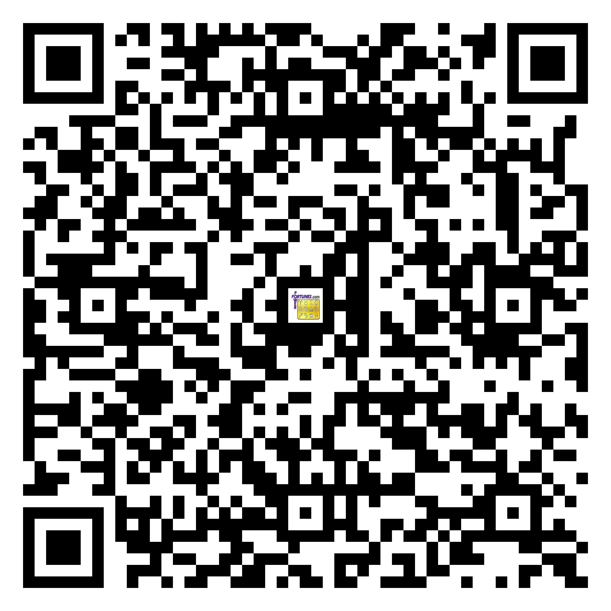 Download QR Code for PowerFortunes.com SKU# Pwr.mn152X77-s