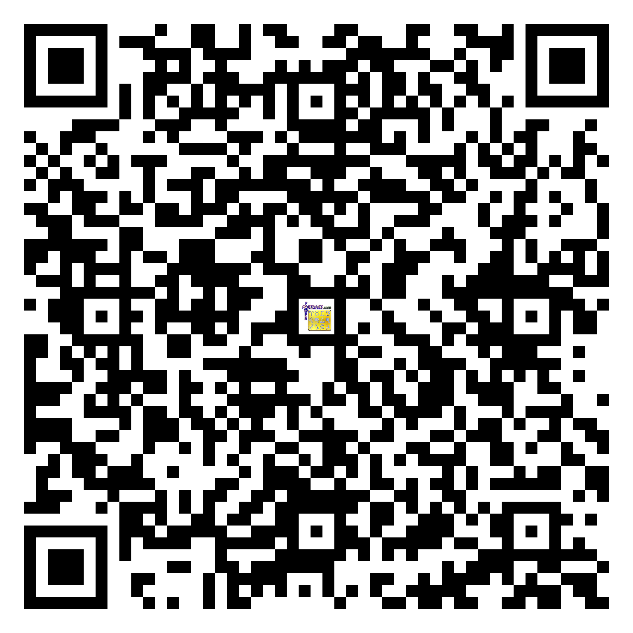 Download QR Code for PowerFortunes.com SKU# Pwr.mn153X80-s