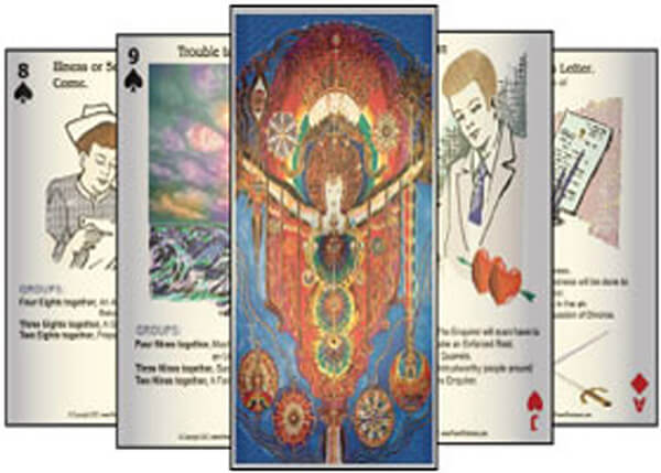 Click to try the PowerFortunes.com, fortune telling cards.