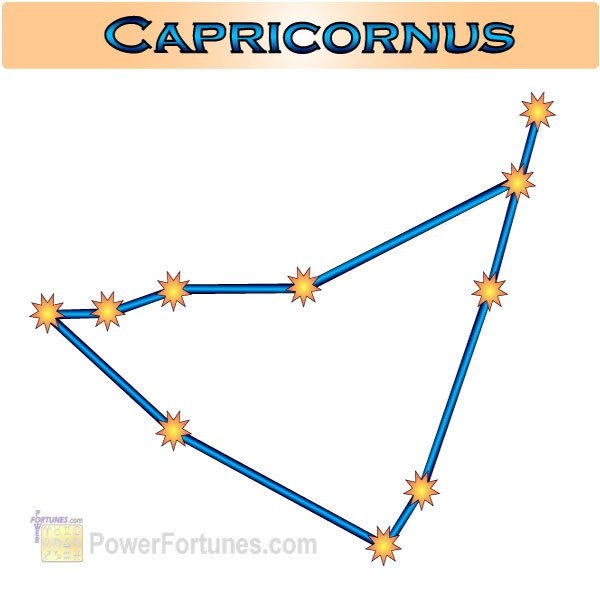 Zodiac Constellation for Capricorn