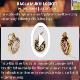 Click for video about, Item 60, Locket Talisman - Bagla Mukhi Yantra